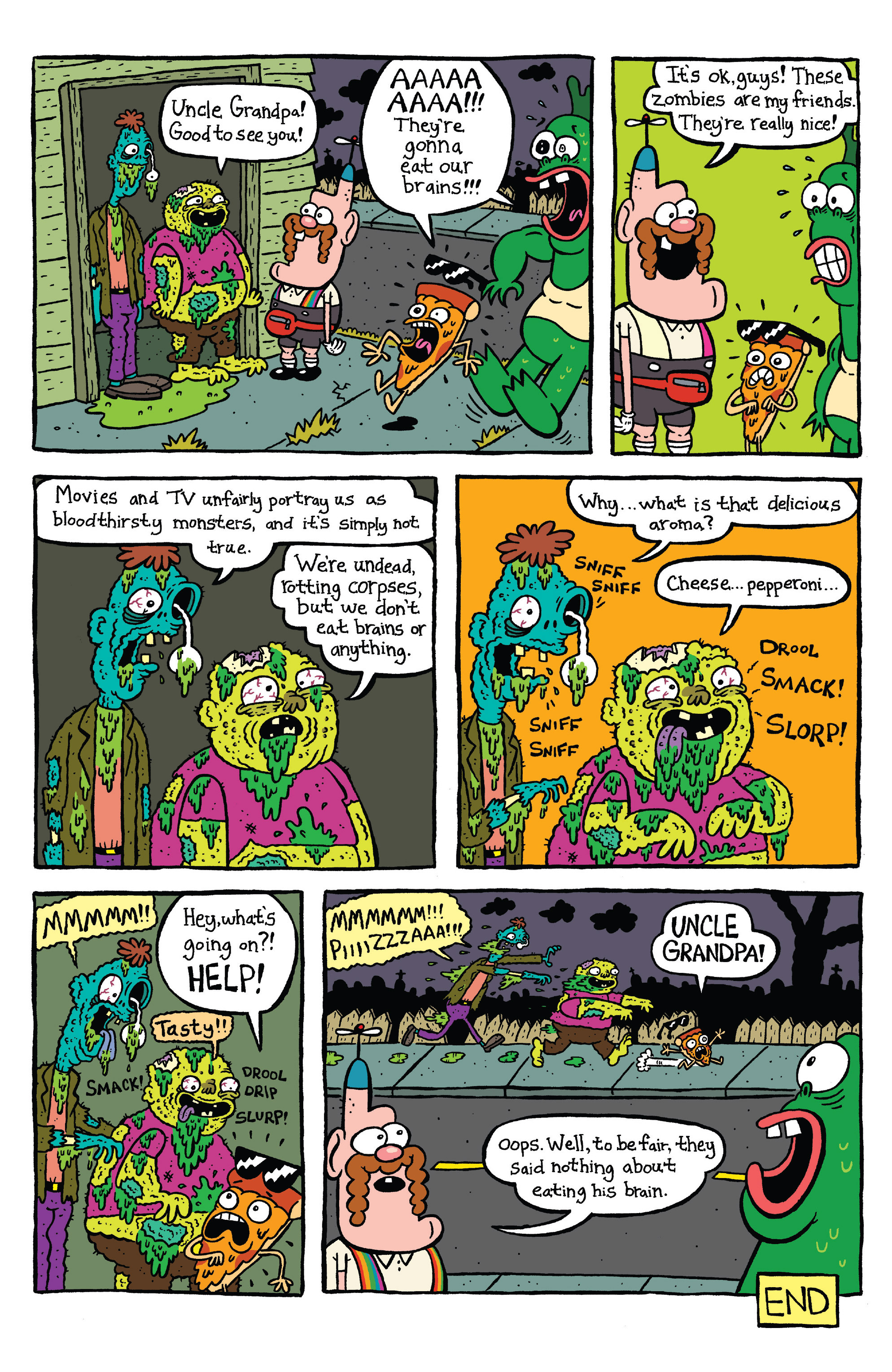 Read online Uncle Grandpa comic -  Issue #4 - 23