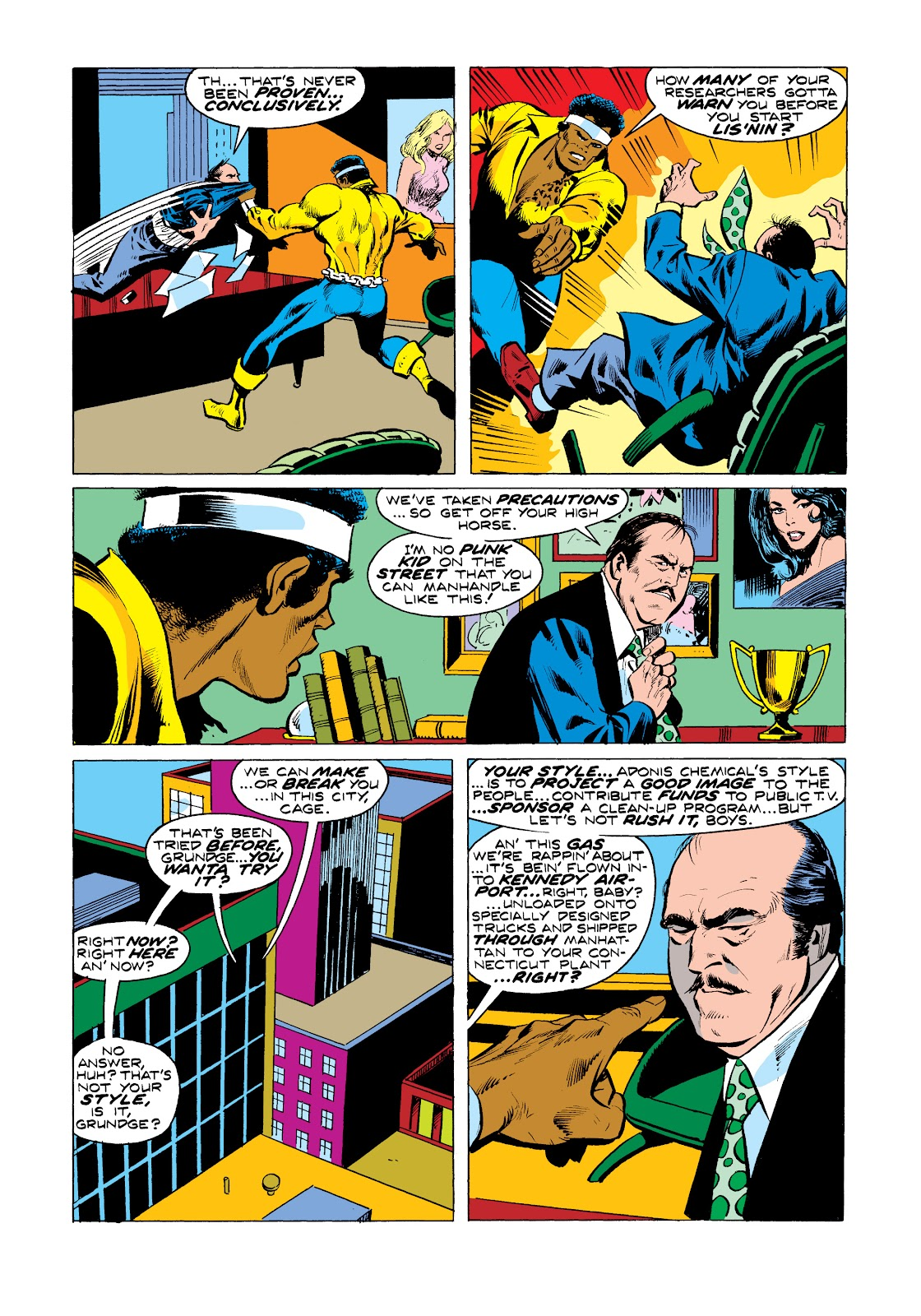 Read online Marvel Masterworks: Luke Cage, Power Man comic -  Issue # TPB 2 (Part 3) - 34