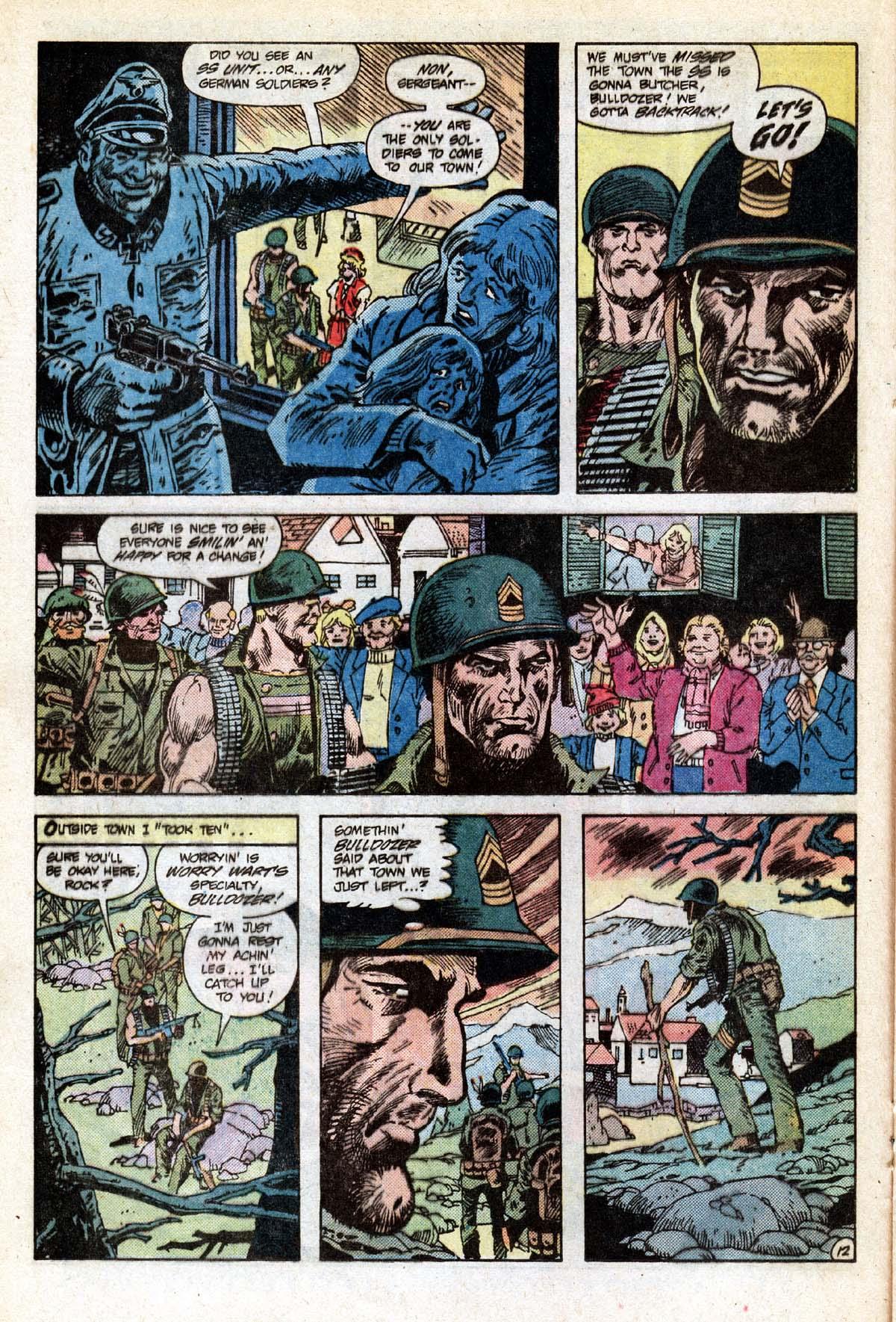 Read online Sgt. Rock comic -  Issue #391 - 13