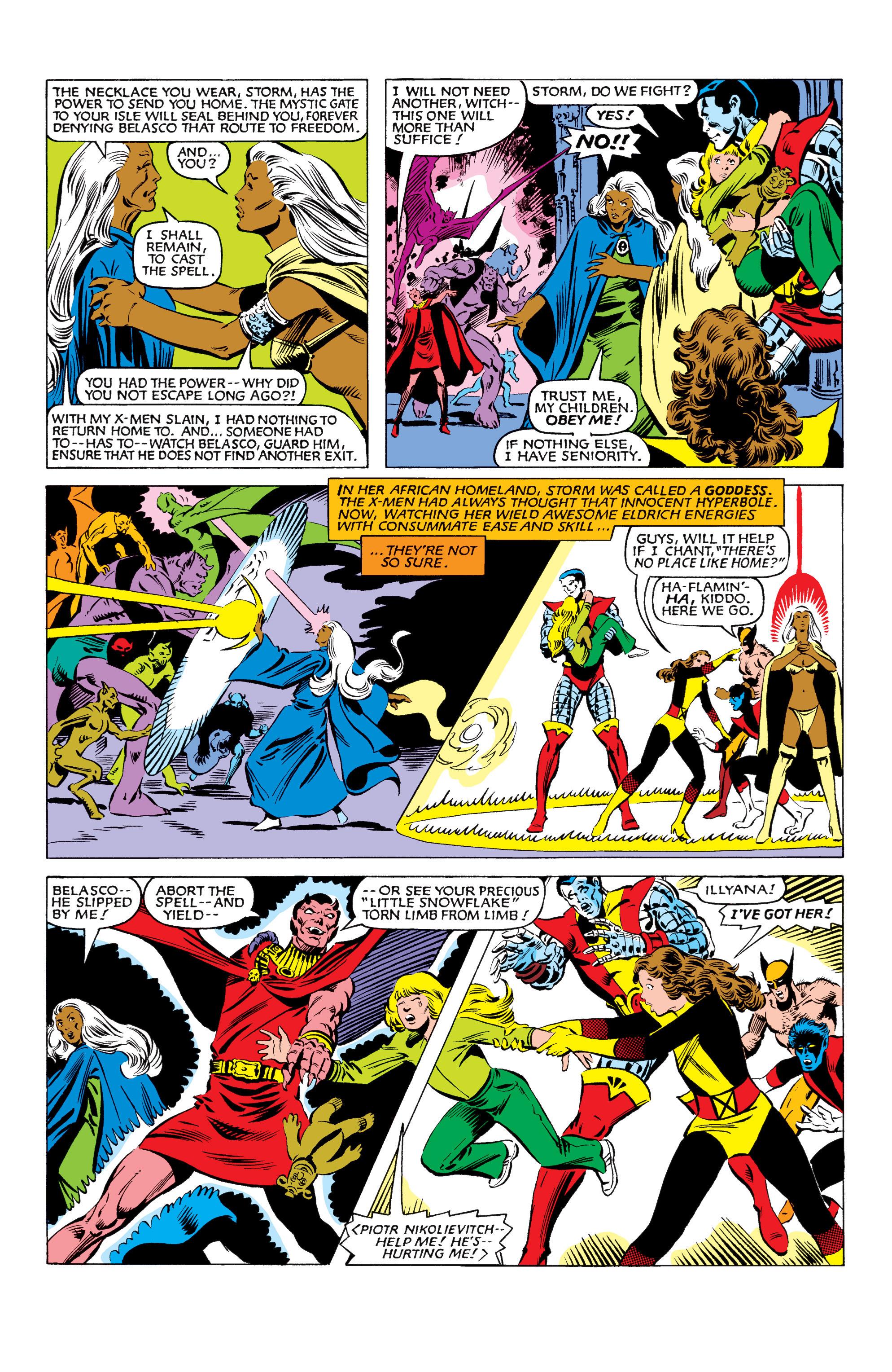 Read online Uncanny X-Men (1963) comic -  Issue #160 - 21