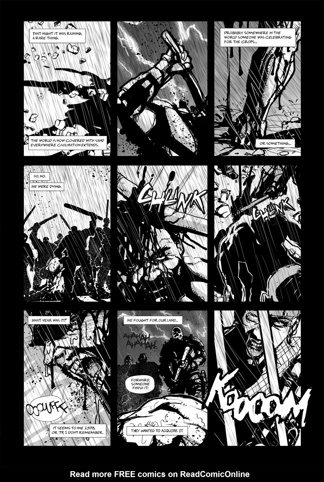 Read online Wrath of God comic -  Issue # _TPB - 73