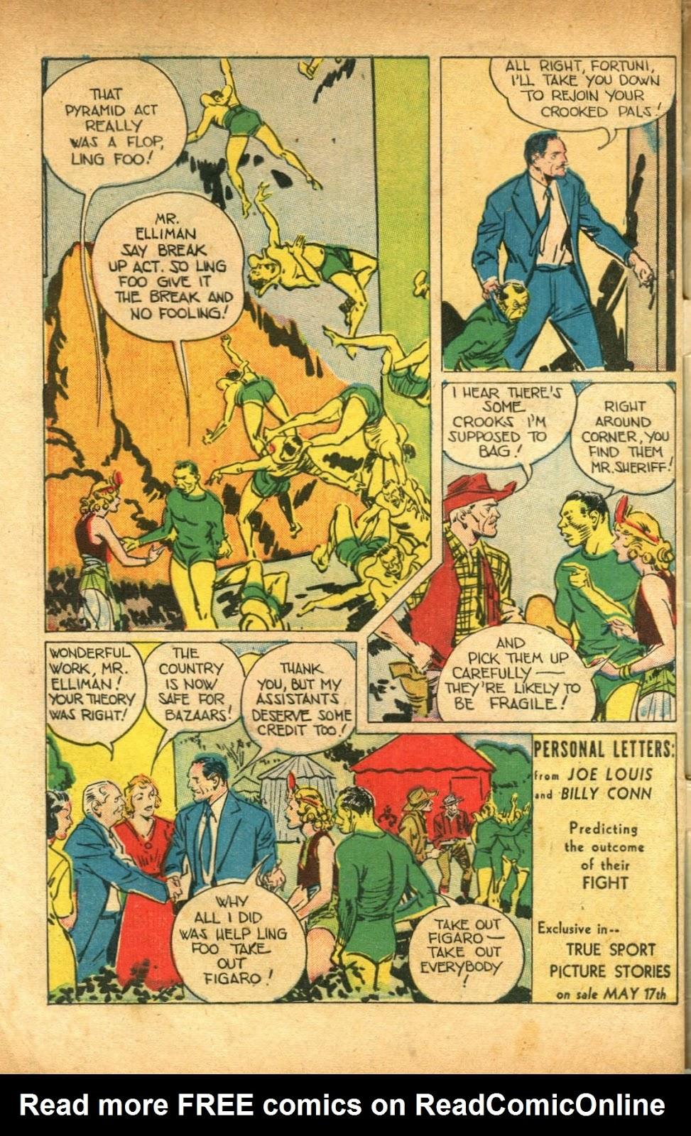 Read online Super-Magician Comics comic -  Issue #51 - 50