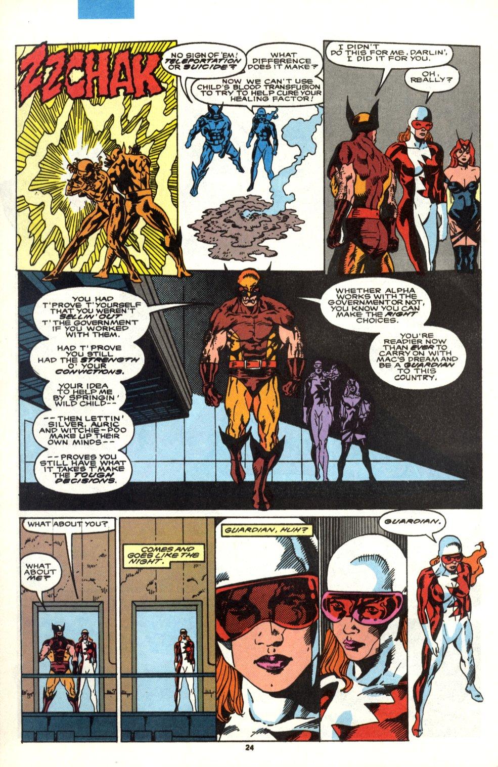 Read online Alpha Flight (1983) comic -  Issue #90 - 20