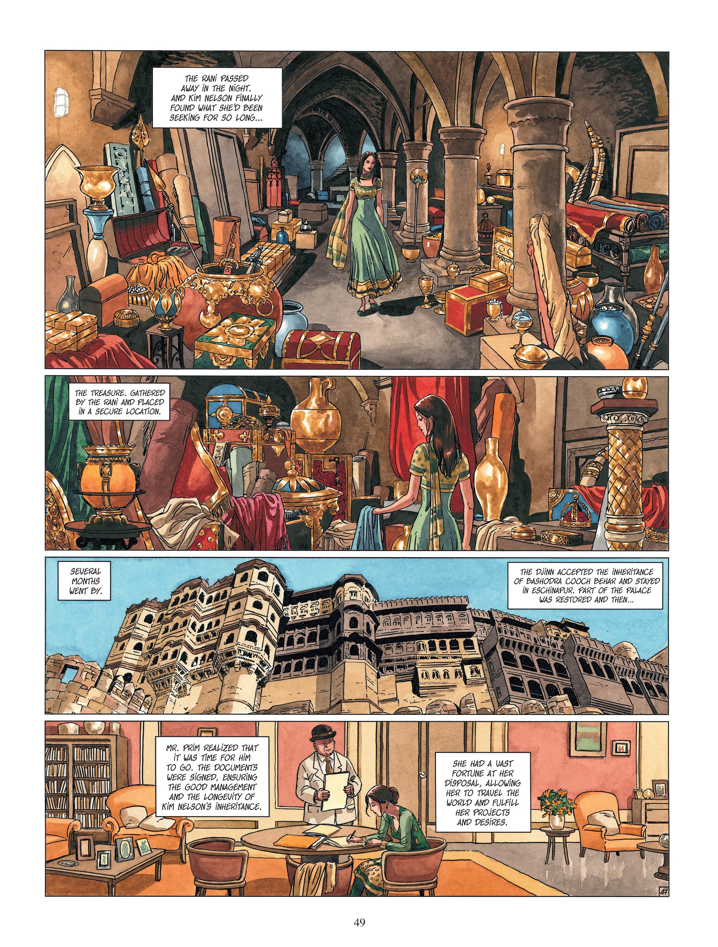 Read online Djinn comic -  Issue #13 - 50
