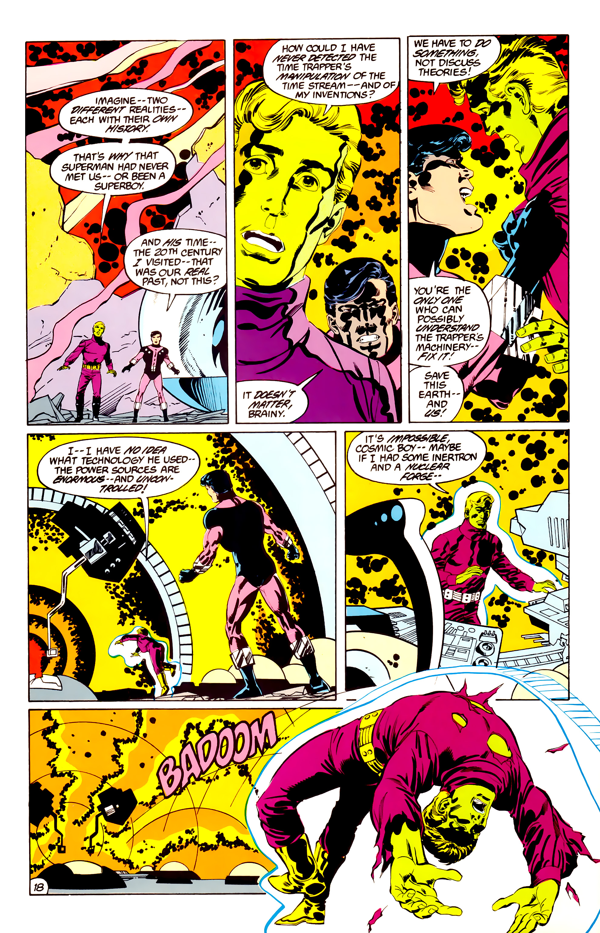 Legion of Super-Heroes (1984) 38 Page 18