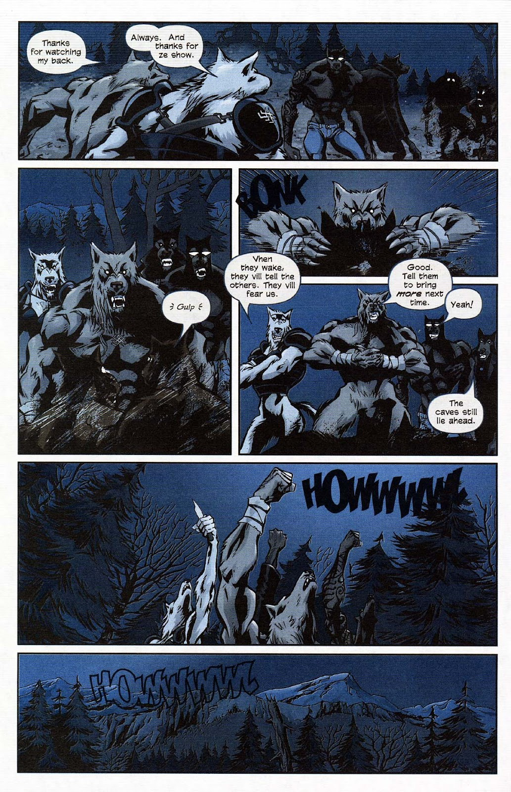 Read online Werewolf the Apocalypse comic -  Issue # Get of Fenris - 20