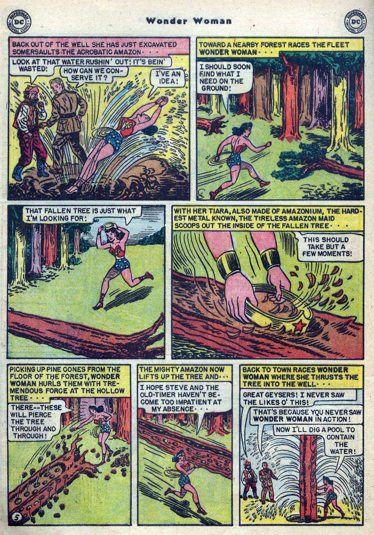 Read online Wonder Woman (1942) comic -  Issue #53 - 36