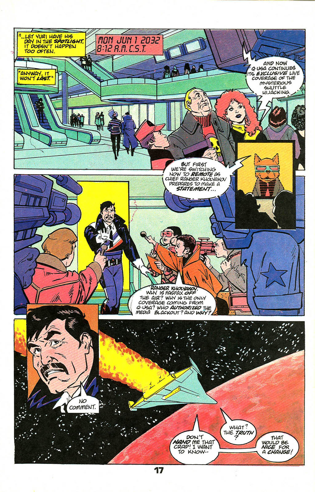 Read online American Flagg! comic -  Issue #49 - 21