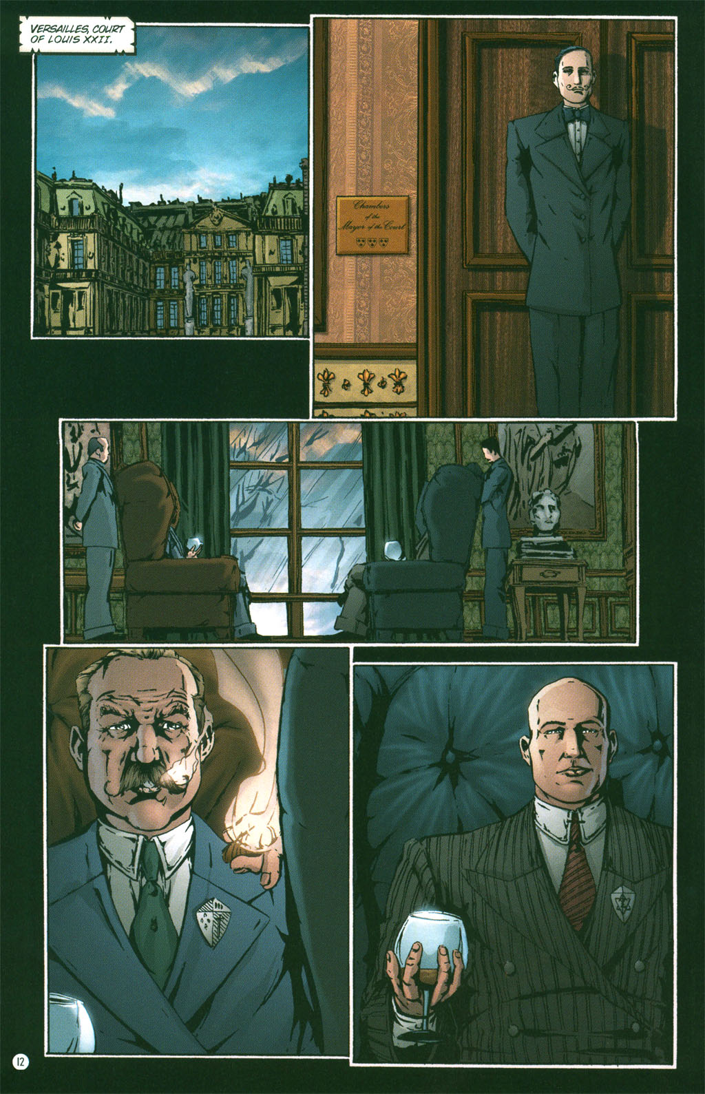 Read online Rex Mundi comic -  Issue #3 - 14