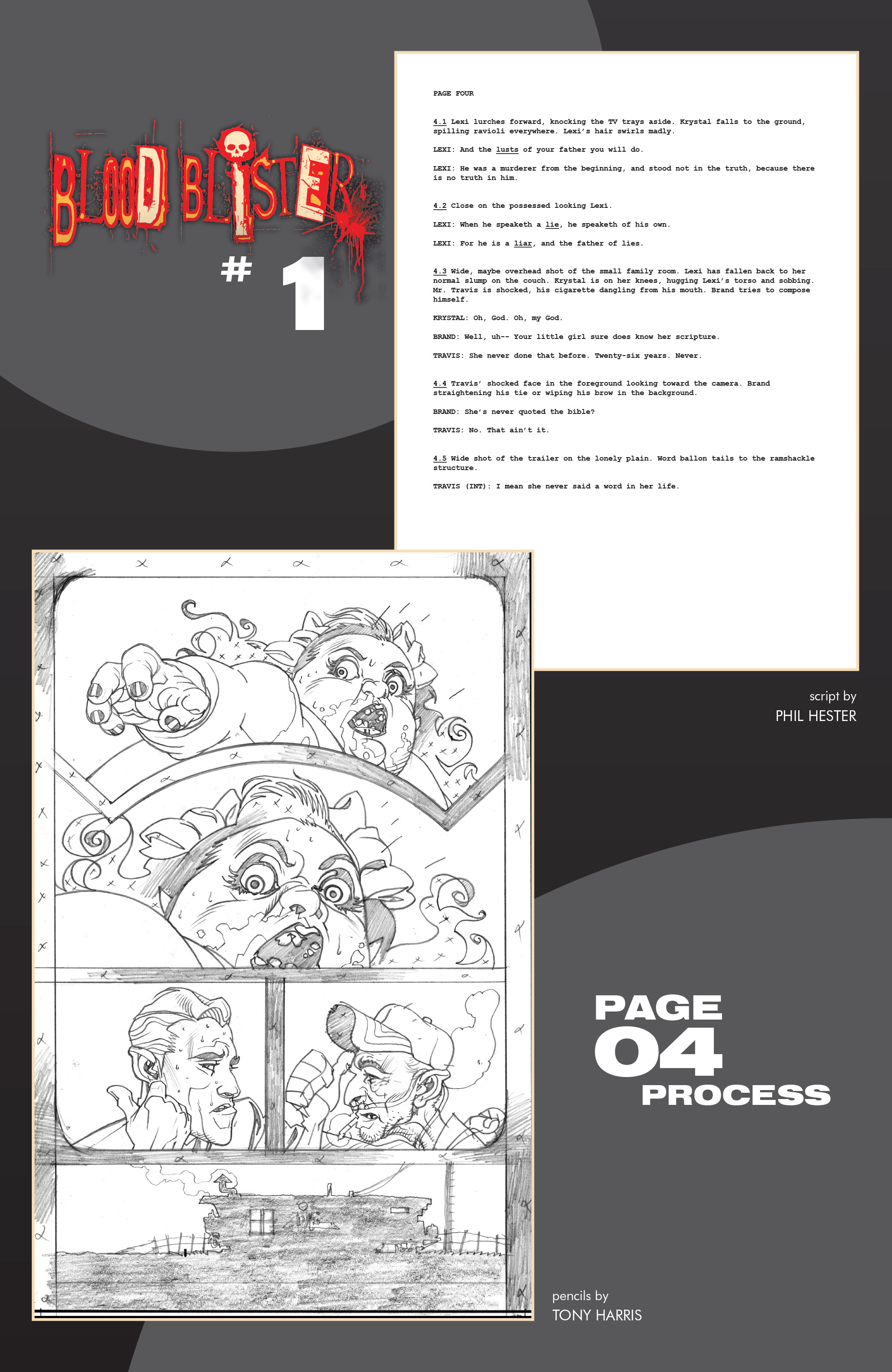 Read online Blood Blister comic -  Issue #1 - 29
