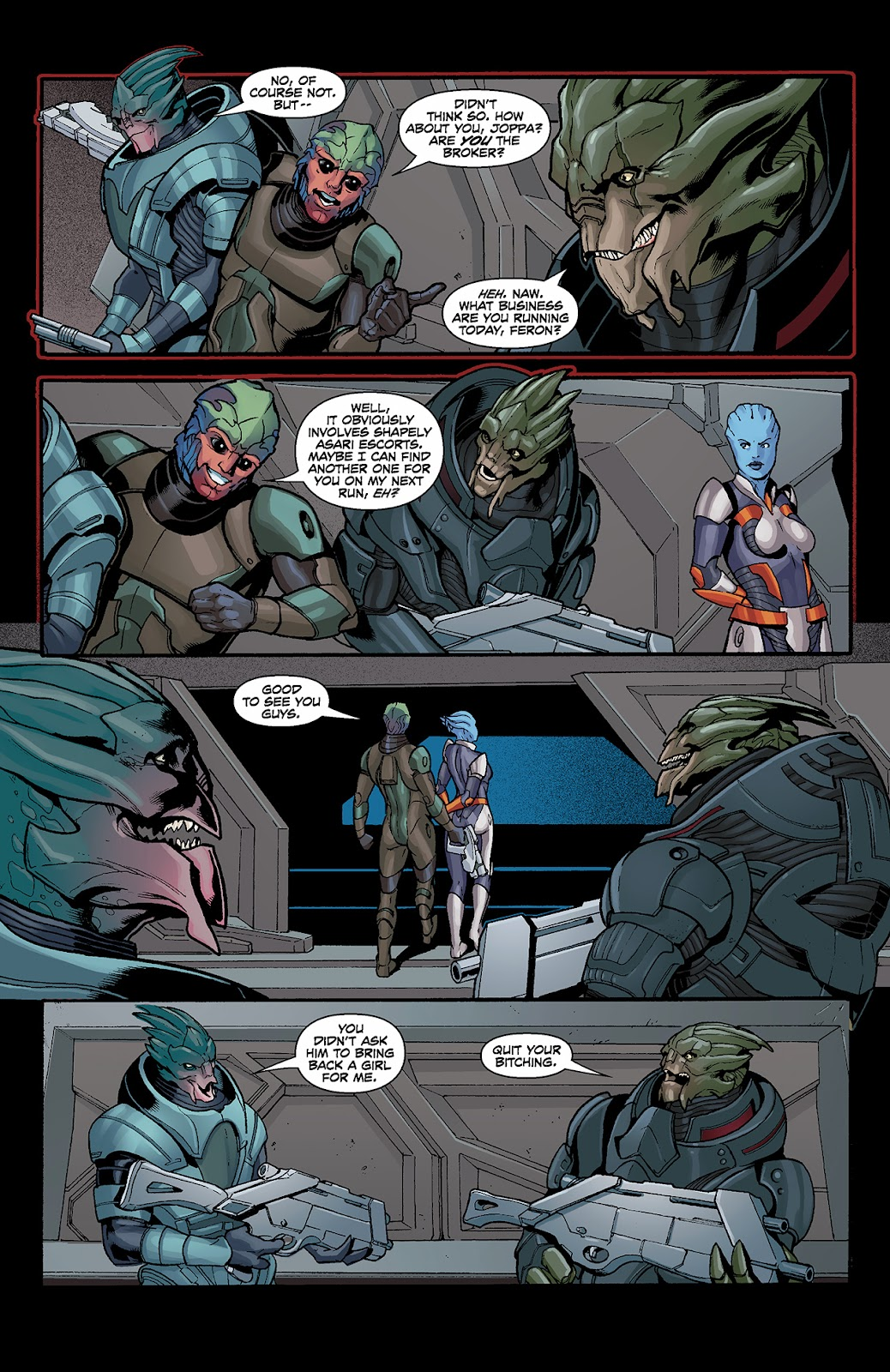 Mass Effect: Redemption Issue #3 #3 - English 15