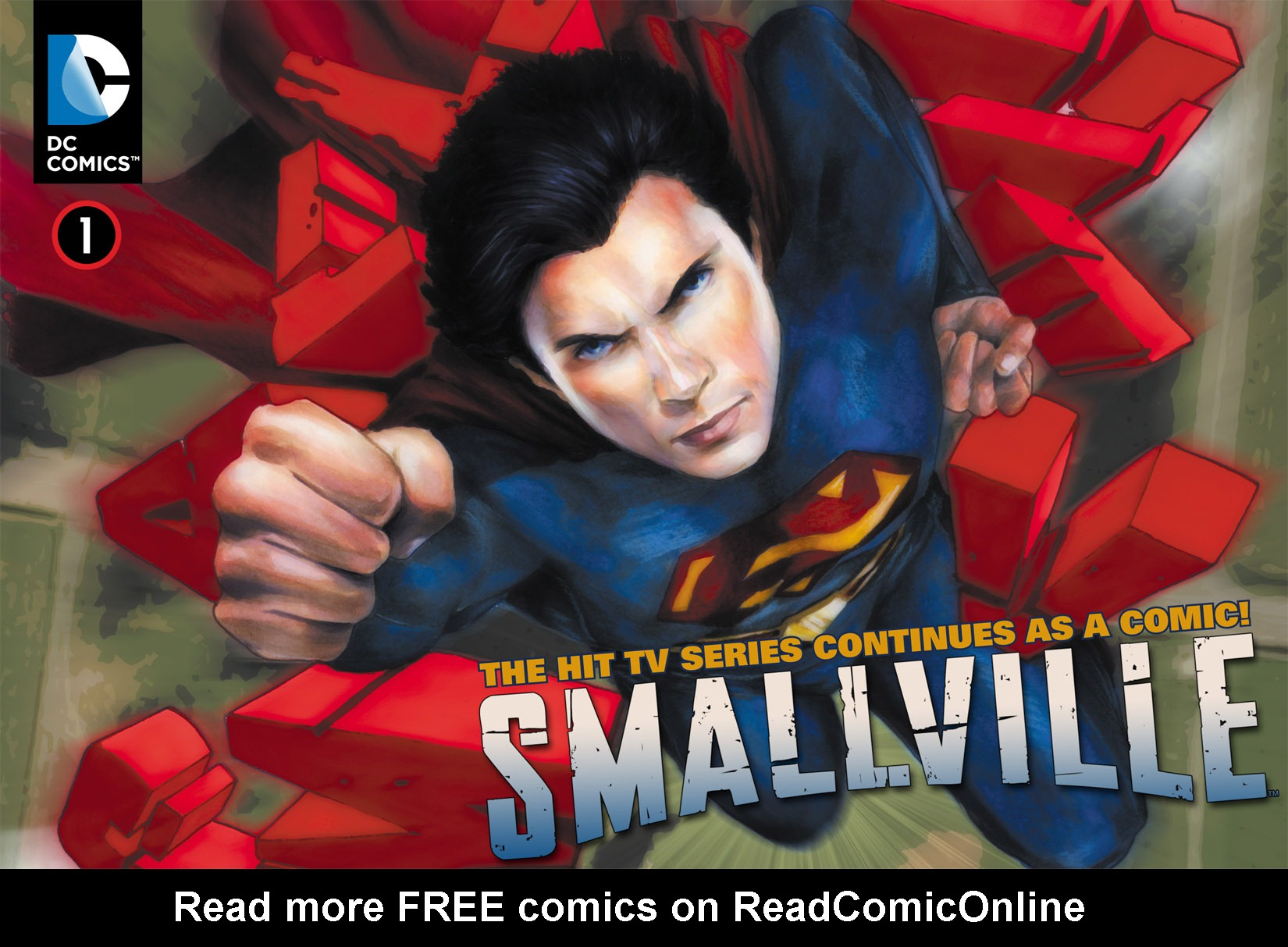 Read online Smallville: Season 11 comic -  Issue #1 - 1