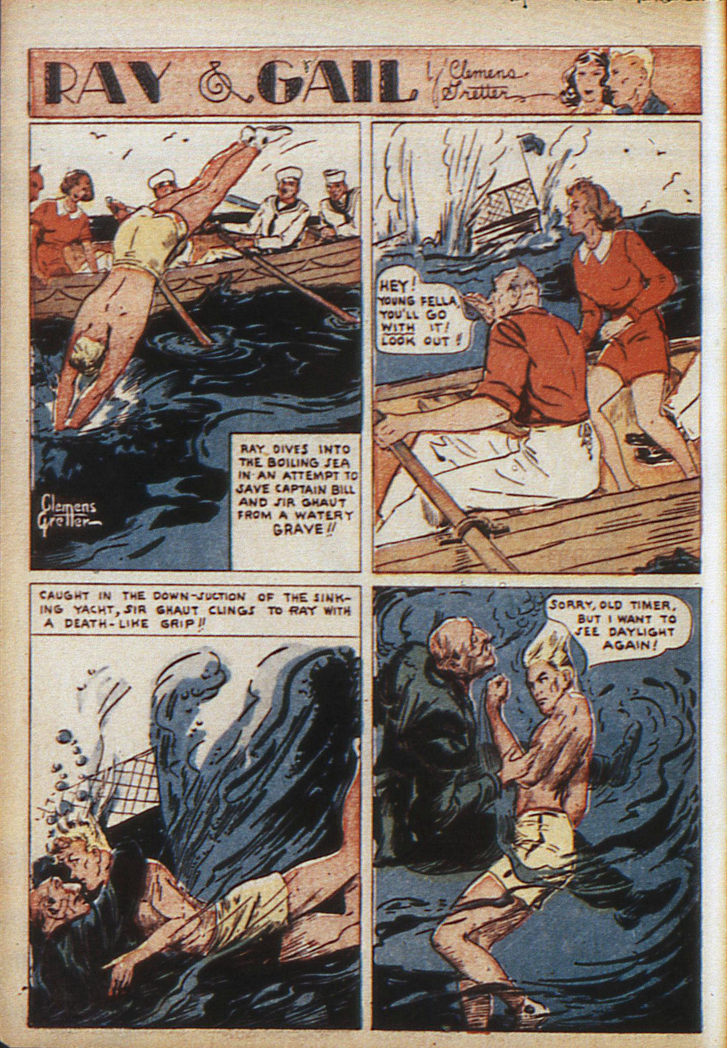Read online Adventure Comics (1938) comic -  Issue #10 - 13