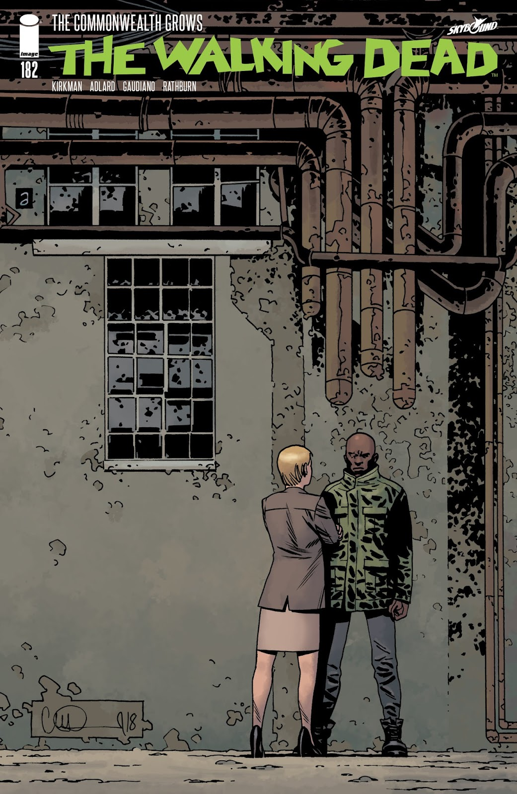 The Walking Dead 182 Page 1
