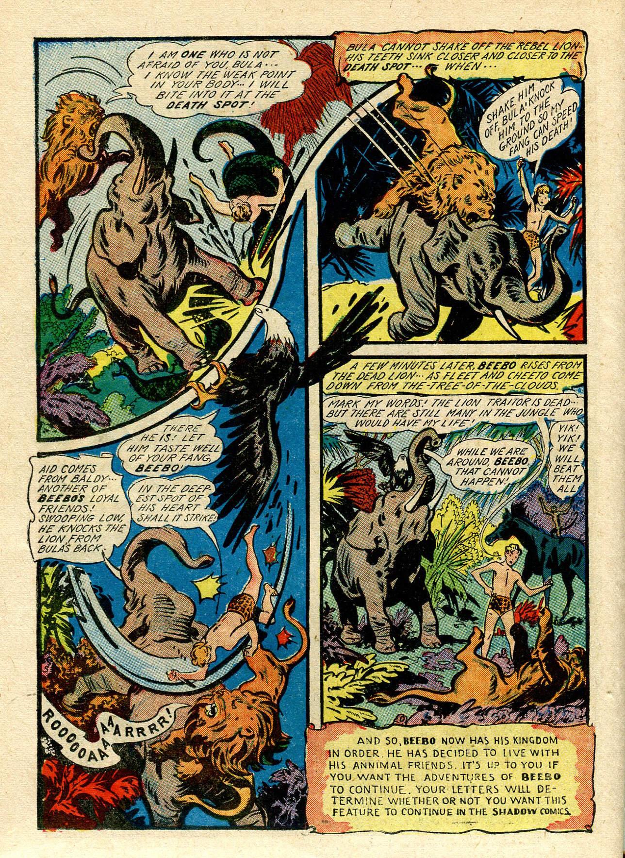 Read online Shadow Comics comic -  Issue #33 - 44