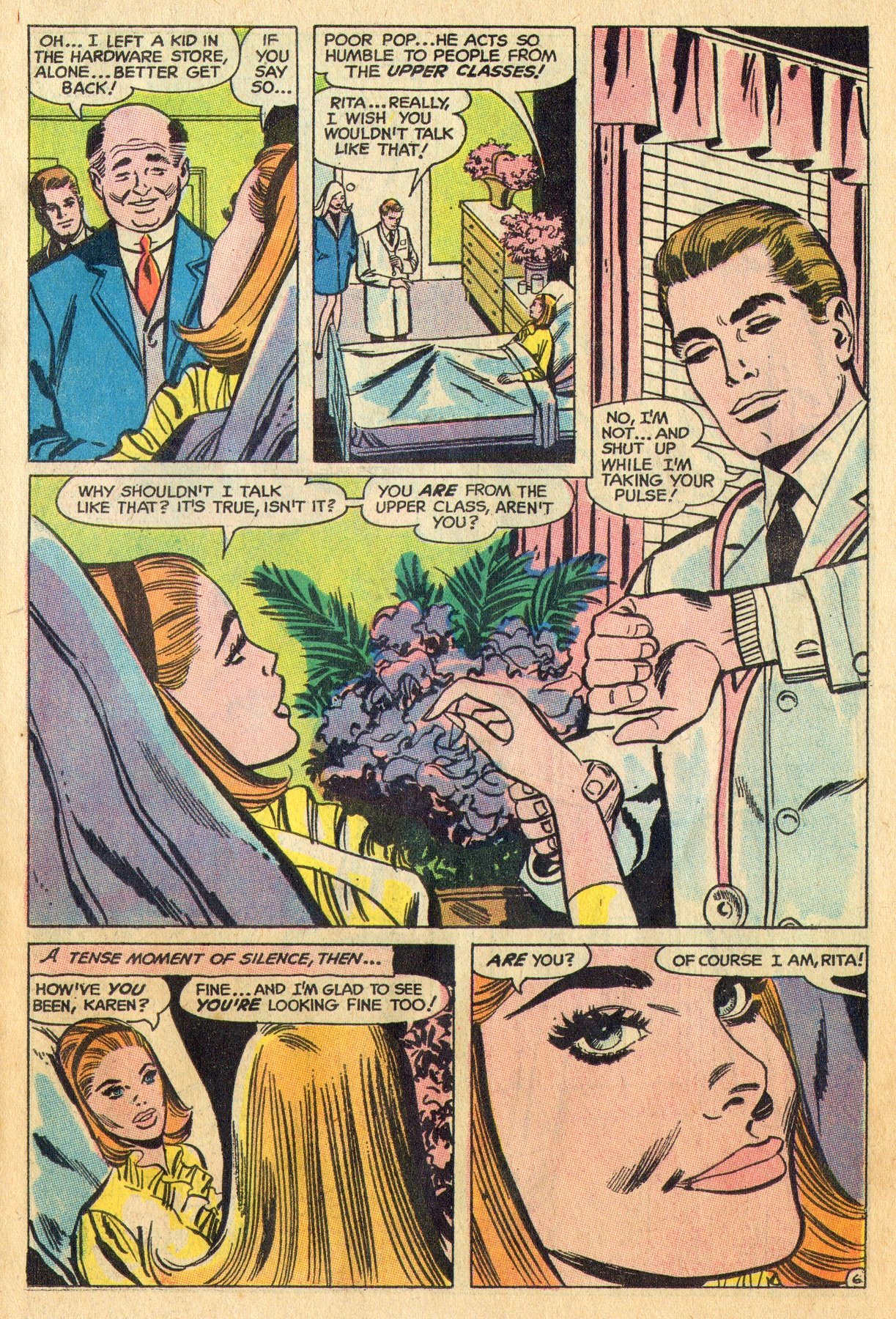 Read online Secret Hearts comic -  Issue #136 - 23