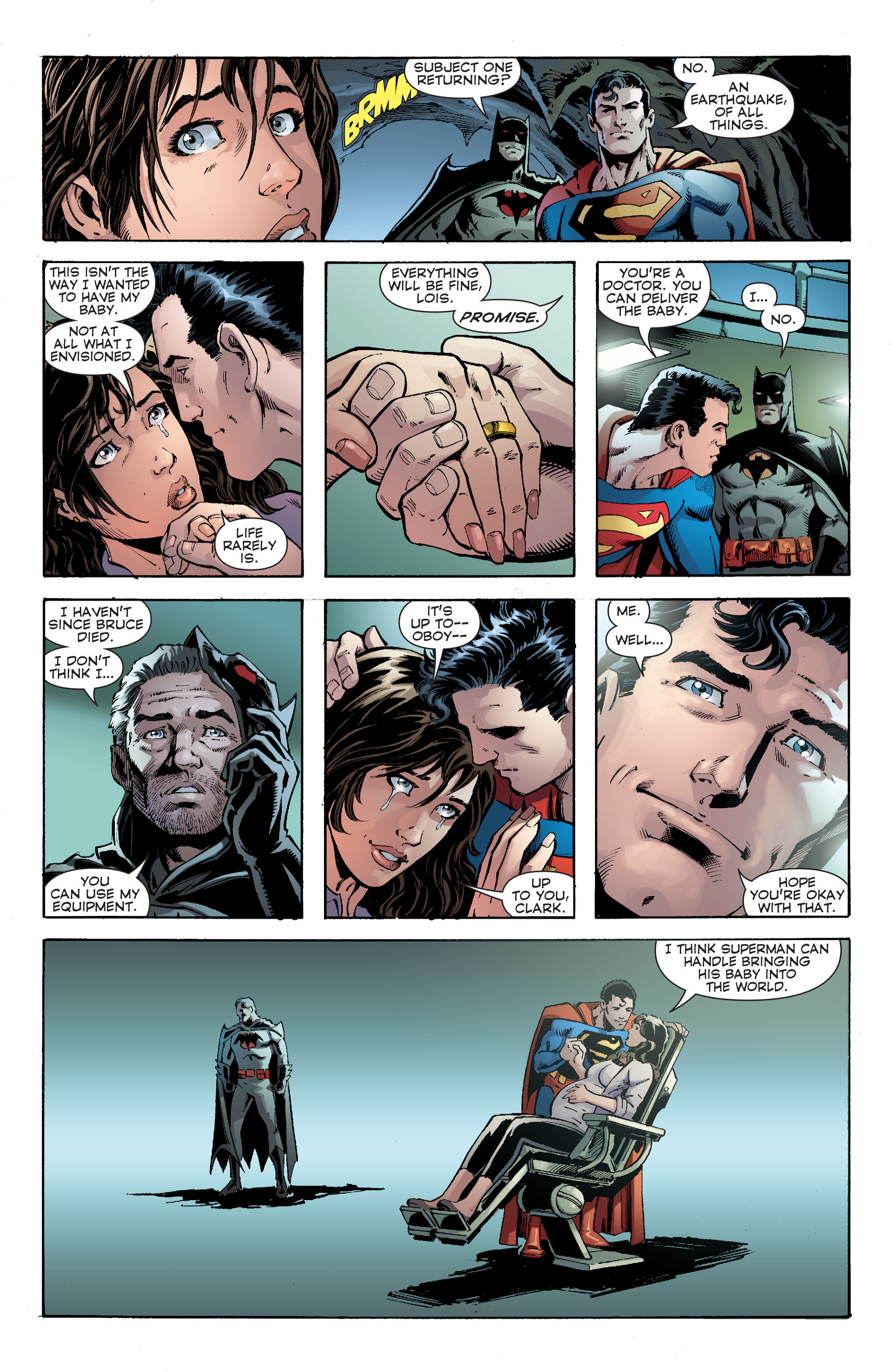 Read online Convergence Superman comic -  Issue #2 - 19