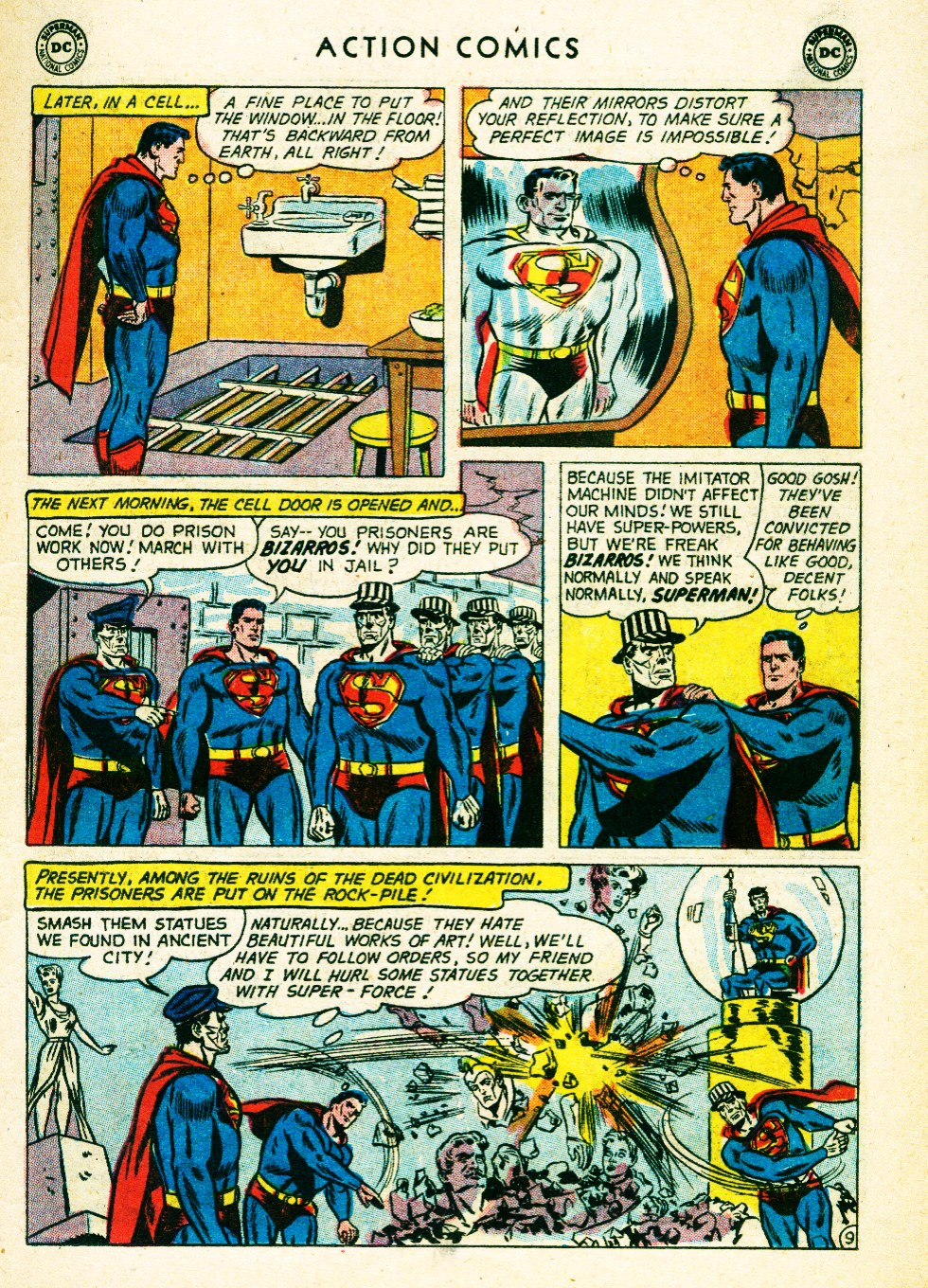 Read online Action Comics (1938) comic -  Issue #263 - 11