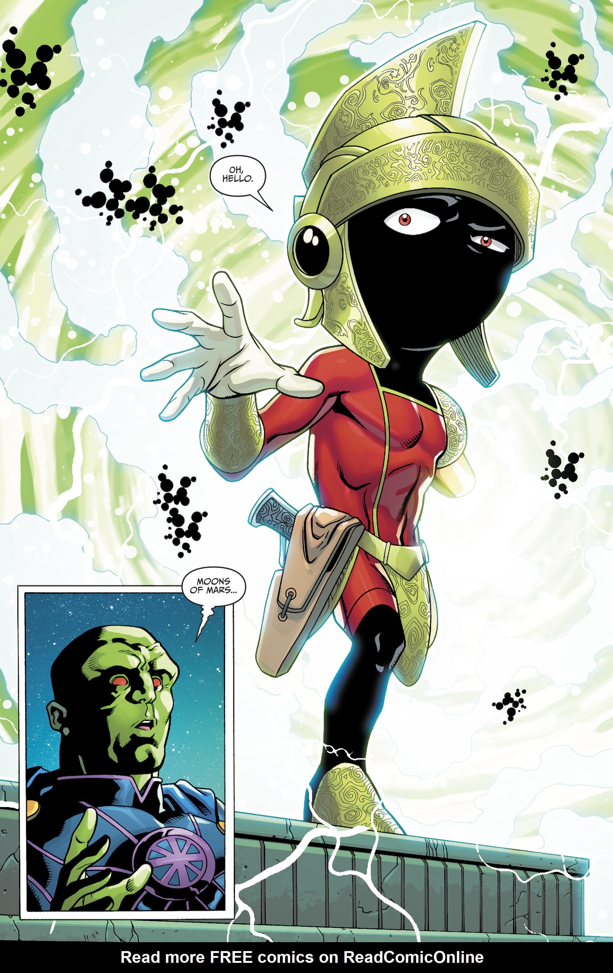 Read online Martian Manhunter/Marvin the Martian Special comic -  Issue # Full - 7