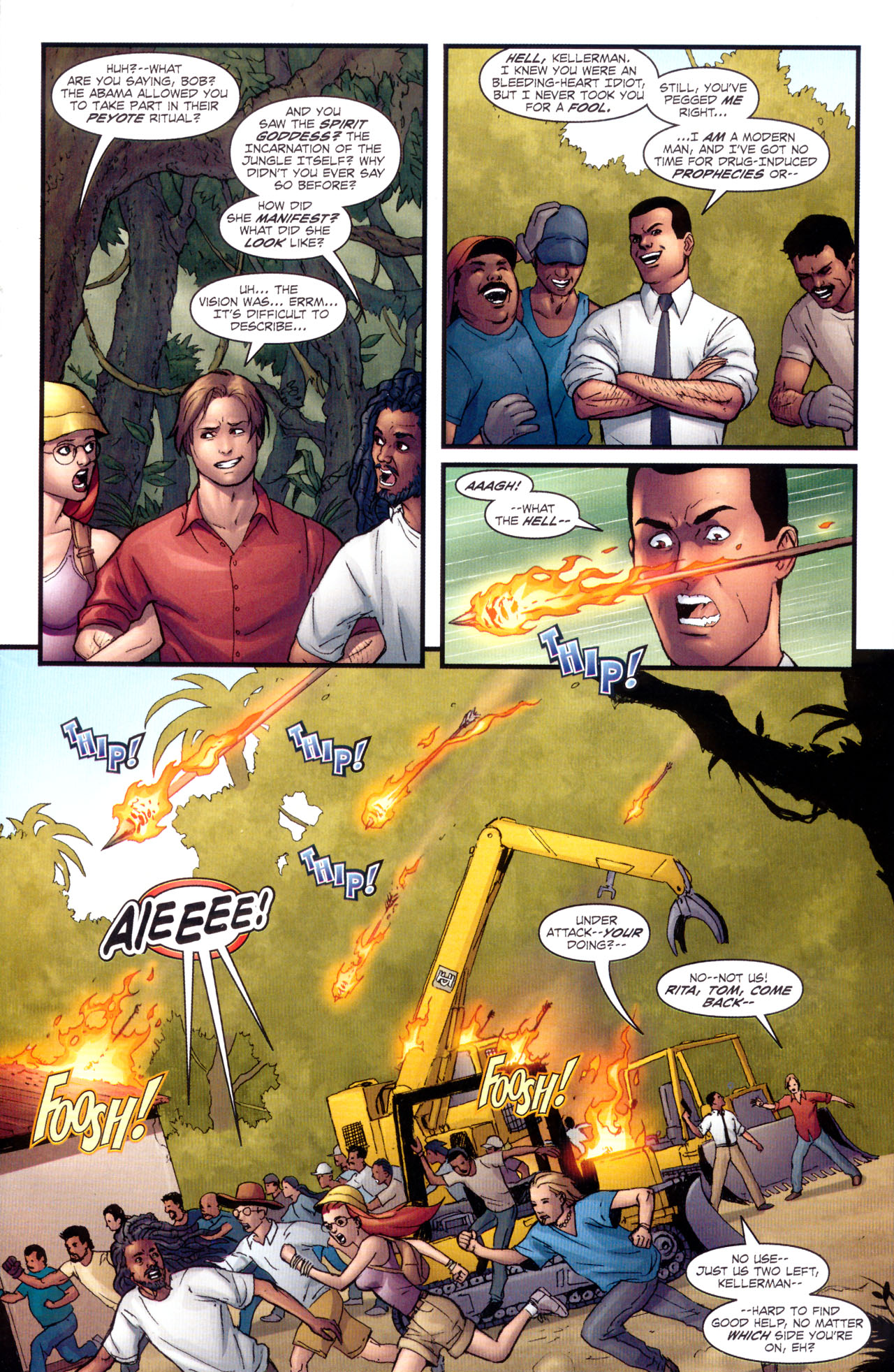 Read online Sheena, Queen of the Jungle comic -  Issue #1 - 8