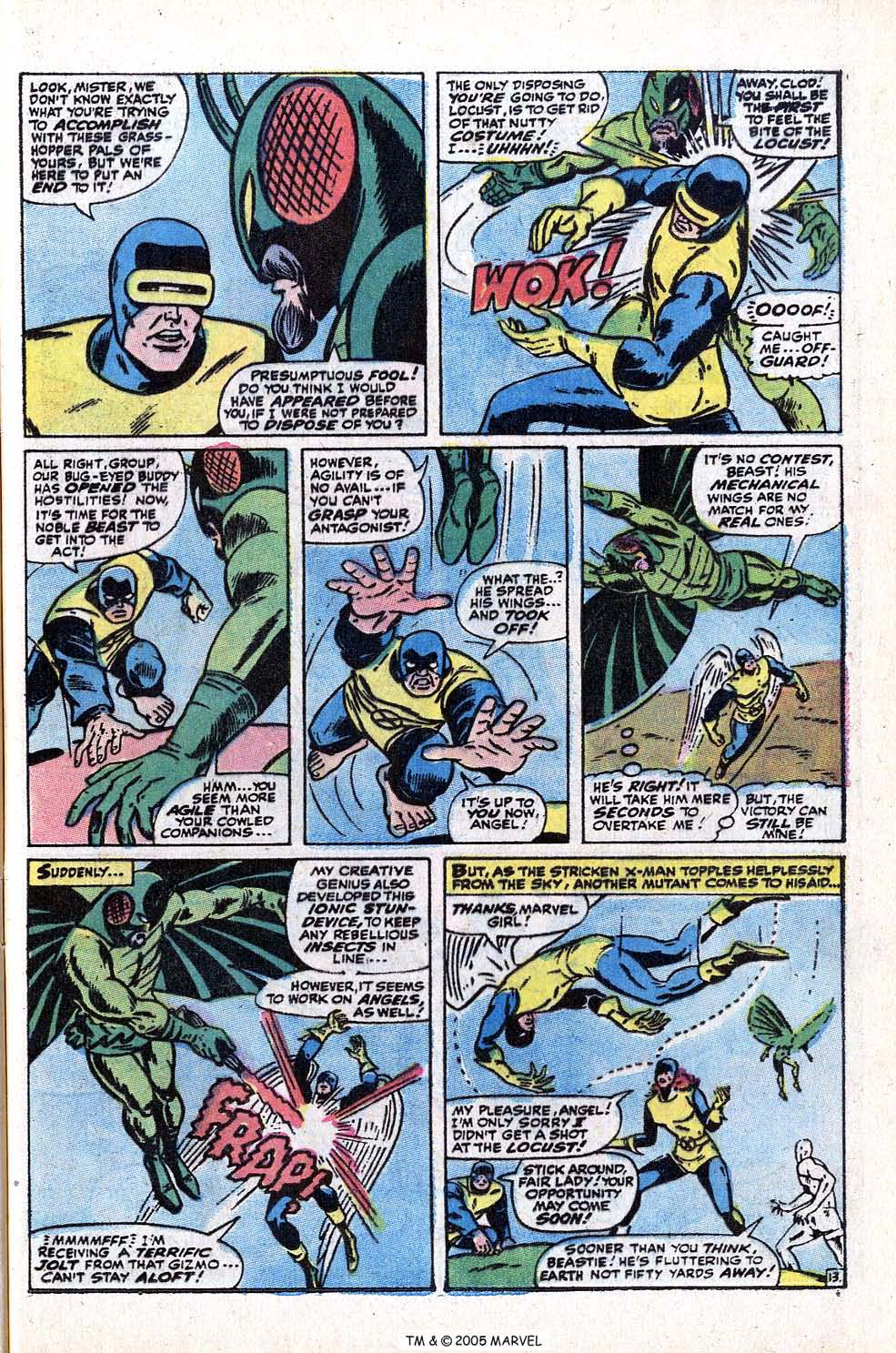 Read online Uncanny X-Men (1963) comic -  Issue #72 - 41