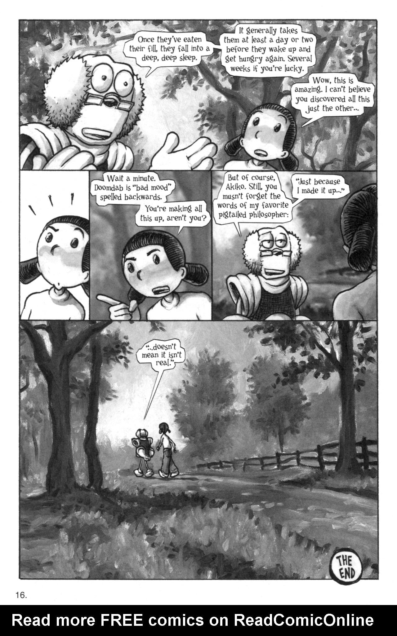 Read online Akiko comic -  Issue #52 - 16