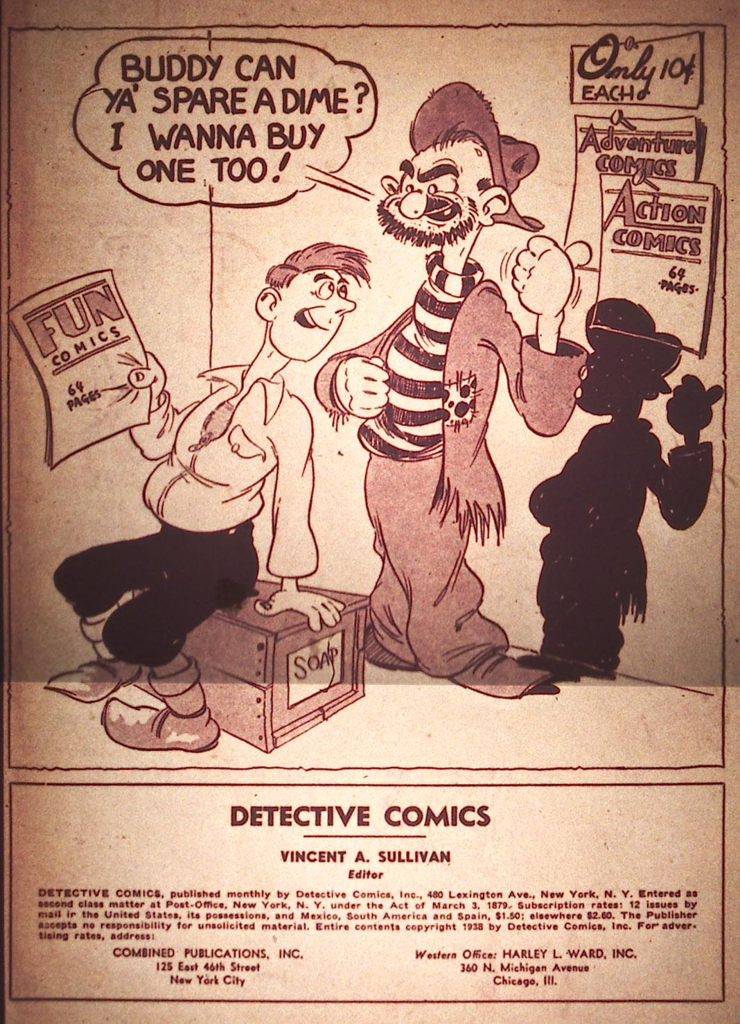 Detective Comics (1937) 22 Page 1