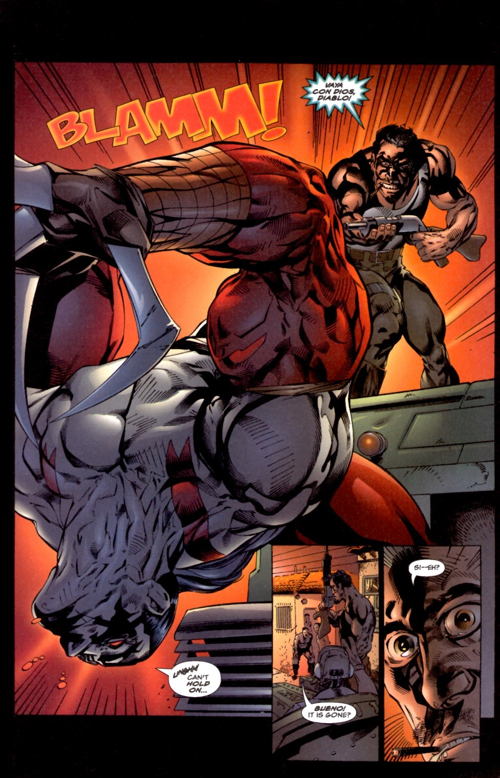 Read online Cyberforce (1993) comic -  Issue # Annual 2 - 9
