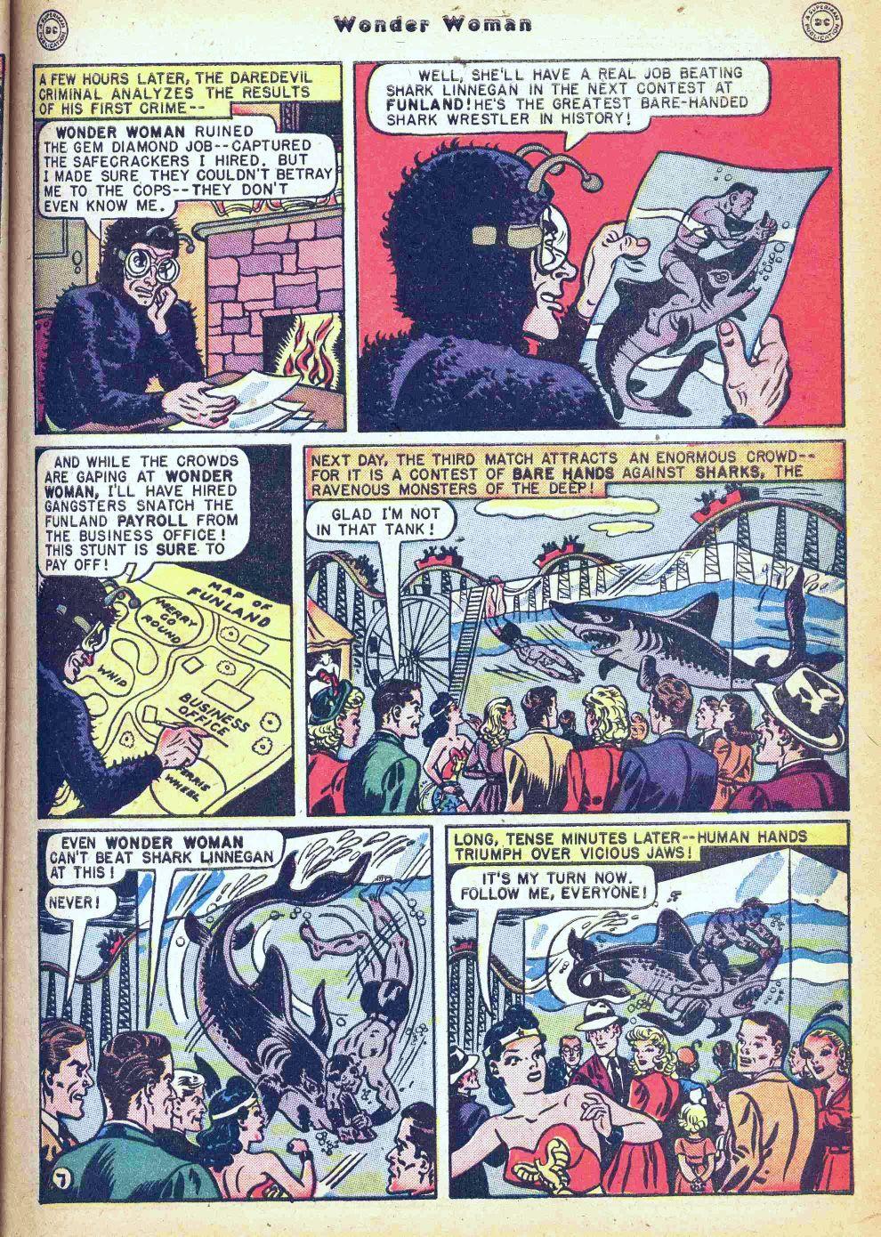 Read online Wonder Woman (1942) comic -  Issue #35 - 9