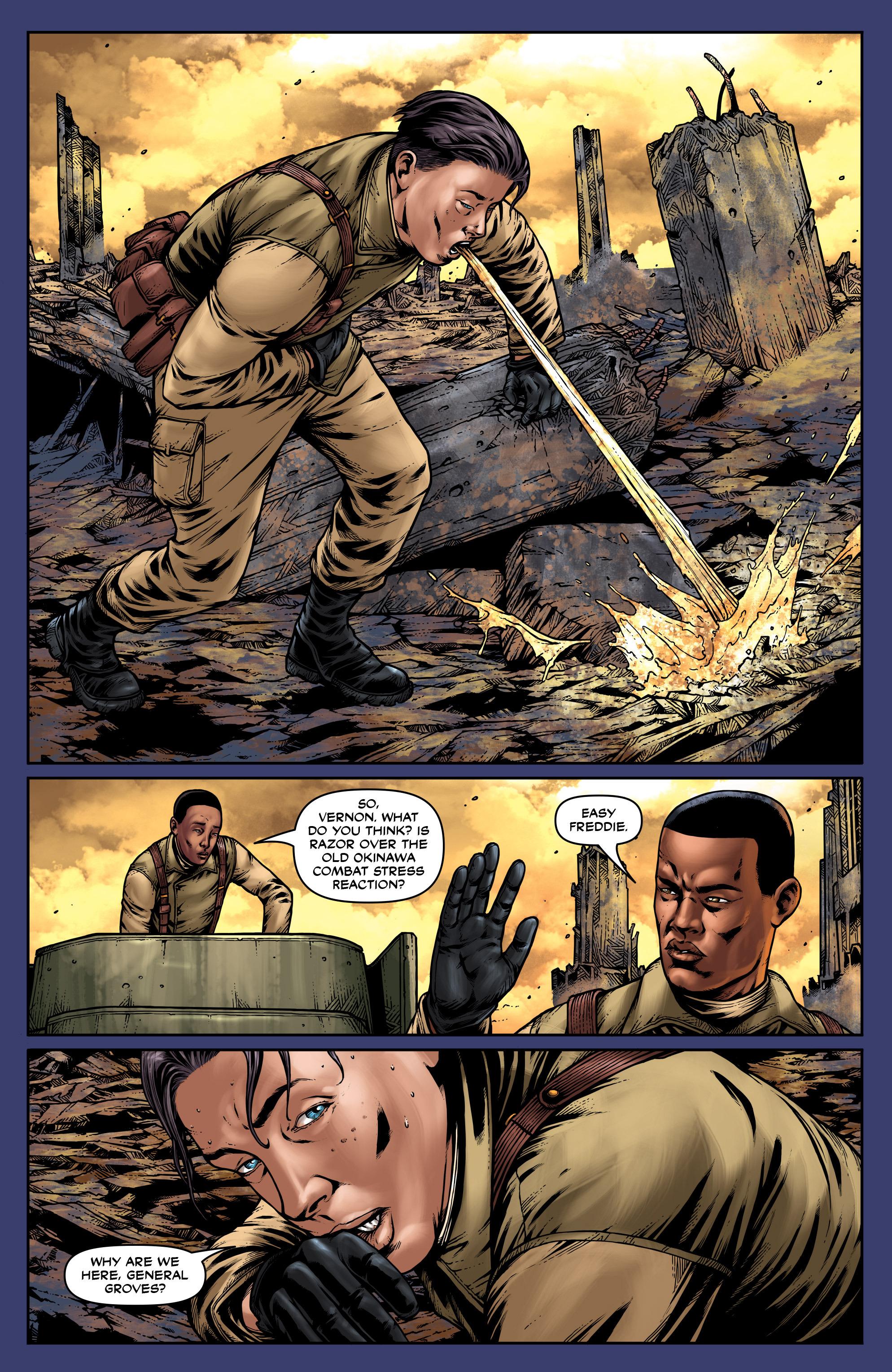 Read online Uber: Invasion comic -  Issue #2 - 21