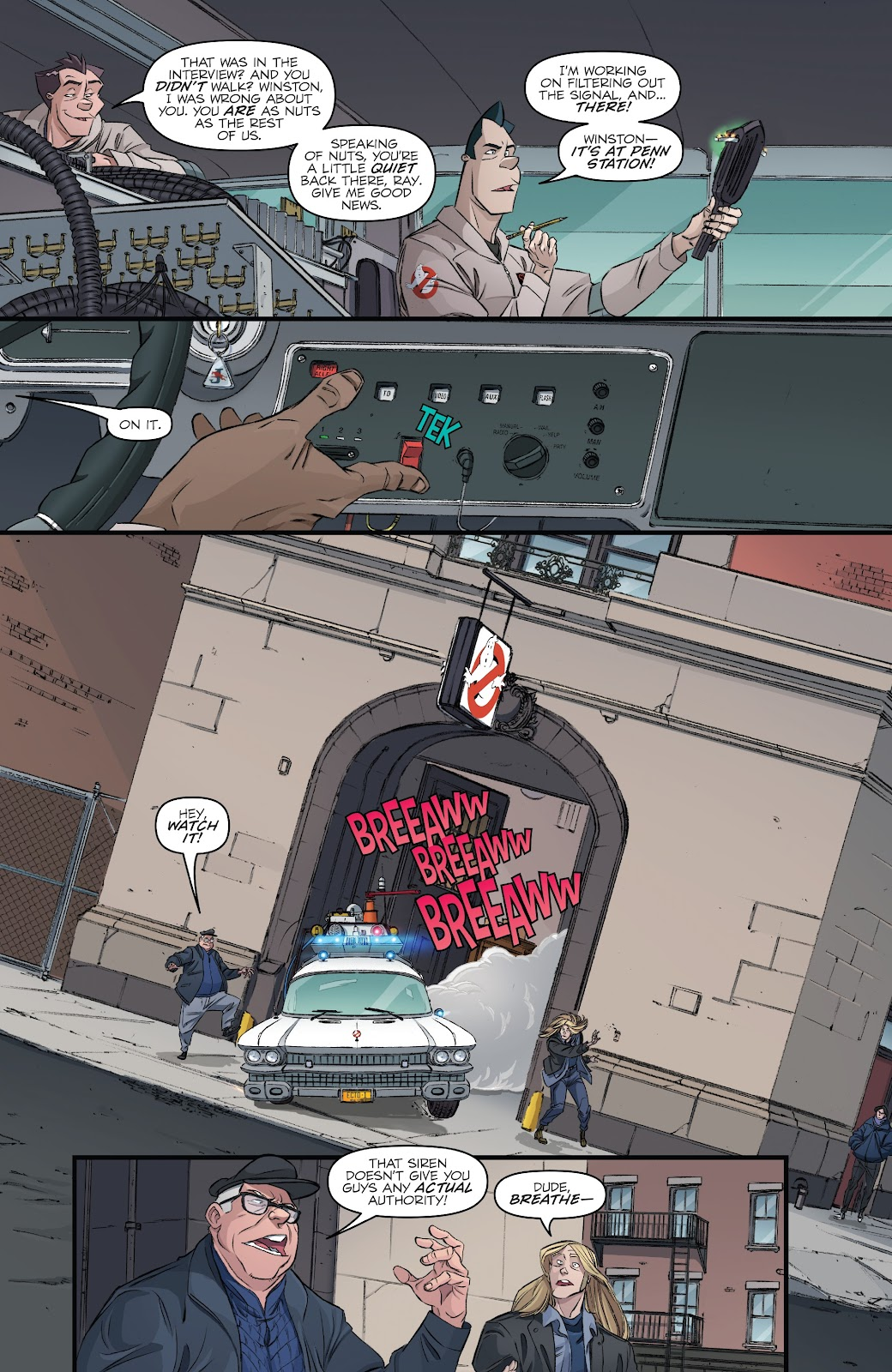 Read online Ghostbusters 35th Anniversary: Ghostbusters comic -  Issue # Full - 11
