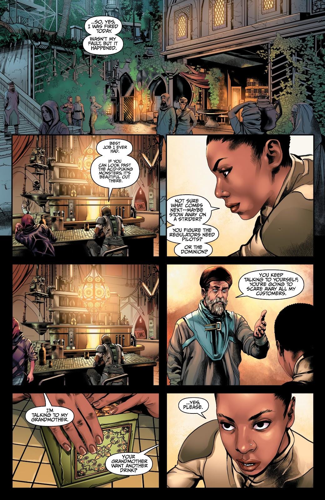 Read online Anthem comic -  Issue #2 - 6