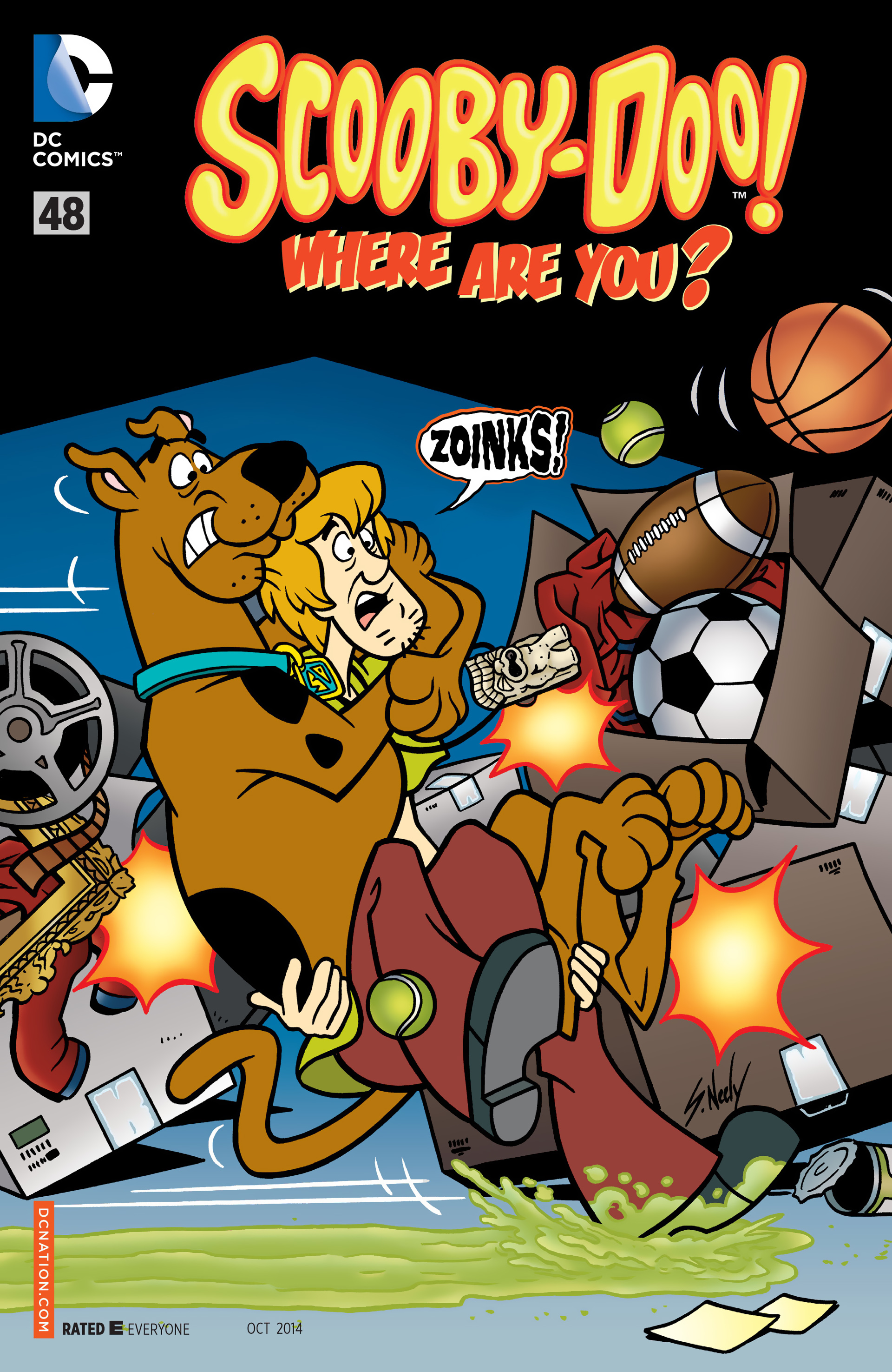 Read online Scooby-Doo: Where Are You? comic -  Issue #48 - 1