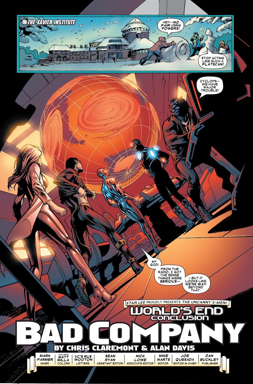 Uncanny X-Men (1963) issue 459 - Page 3