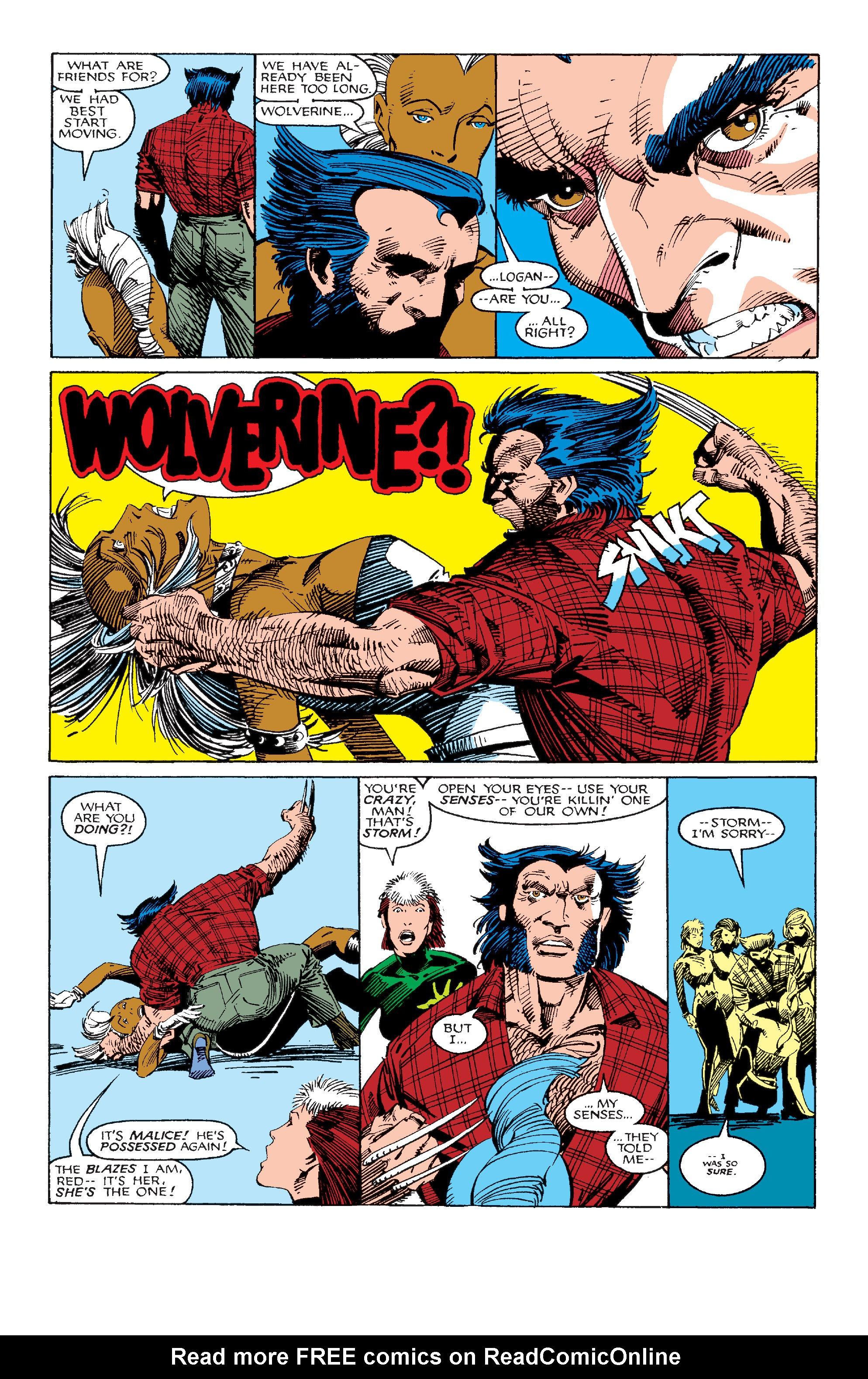Read online Uncanny X-Men (1963) comic -  Issue #214 - 22