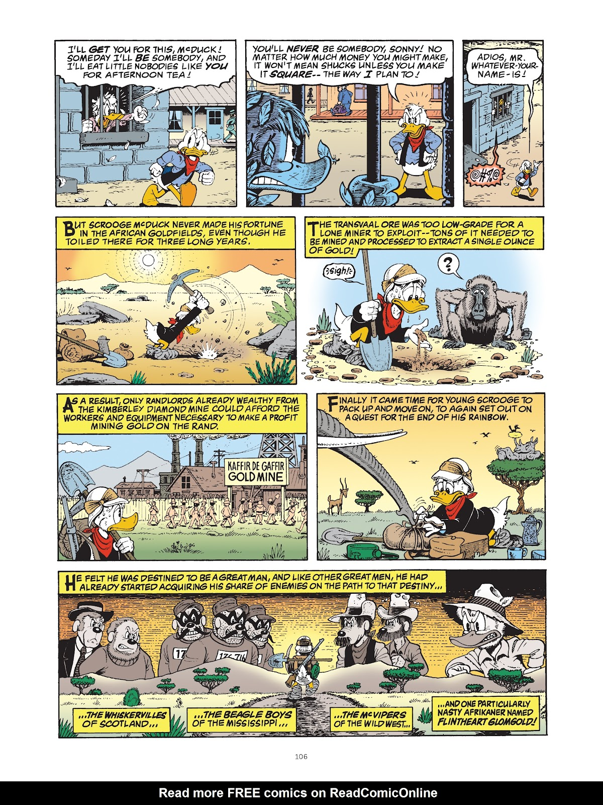 Read online The Complete Life and Times of Scrooge McDuck comic -  Issue # TPB 1 (Part 2) - 8