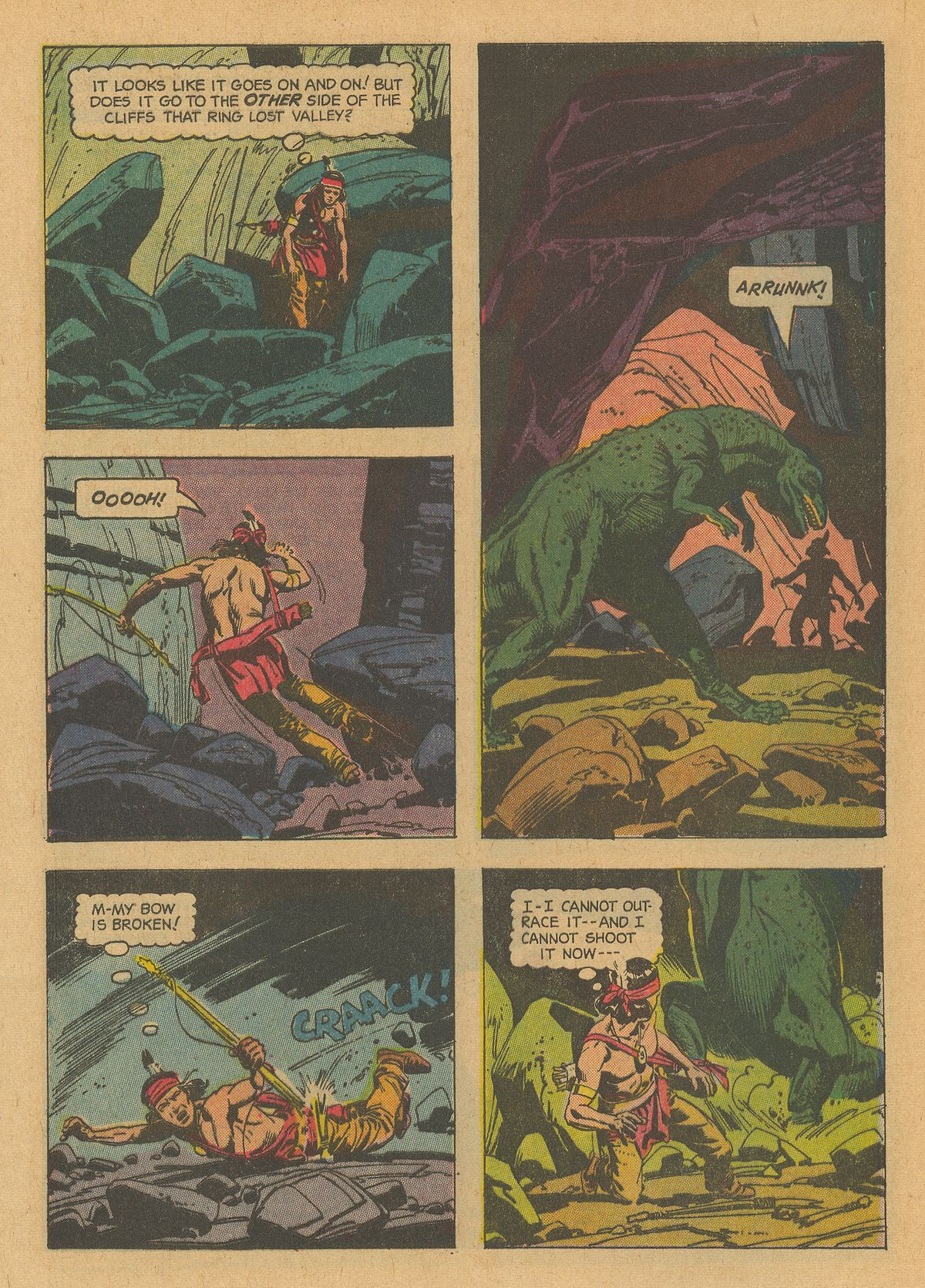 Read online Turok, Son of Stone comic -  Issue #32 - 28