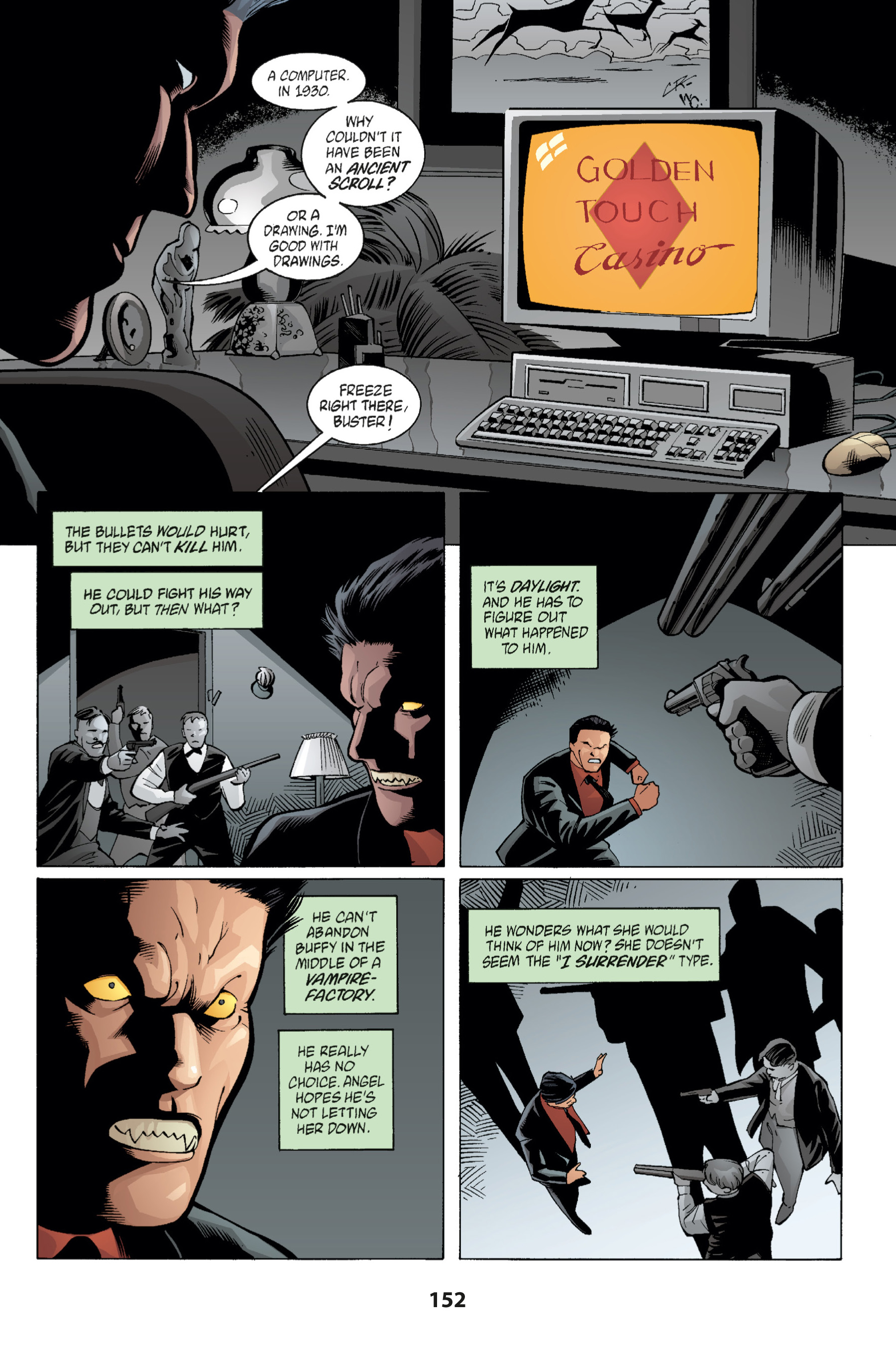 Read online Buffy the Vampire Slayer: Omnibus comic -  Issue # TPB 1 - 151