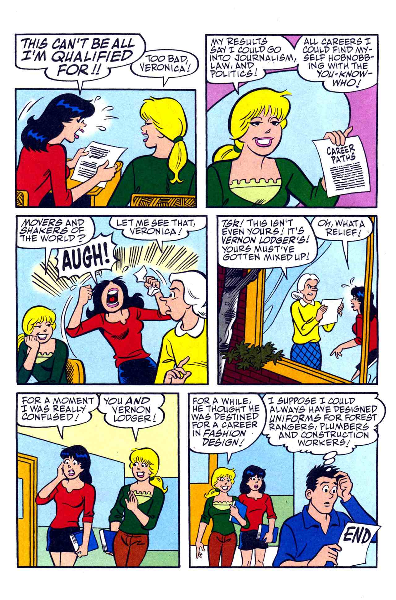 Read online Archie's Girls Betty and Veronica comic -  Issue #230 - 12