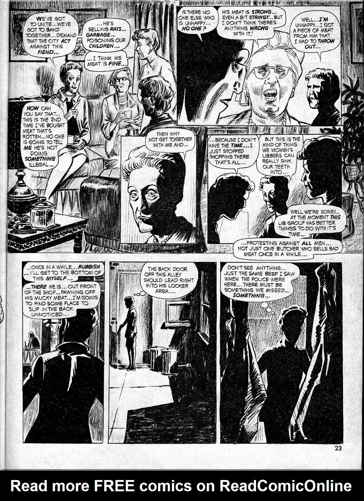 Nightmare (1970) issue 10 - Page 23
