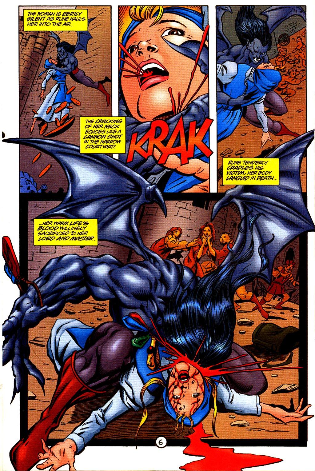 Read online Rune (1995) comic -  Issue #4 - 7