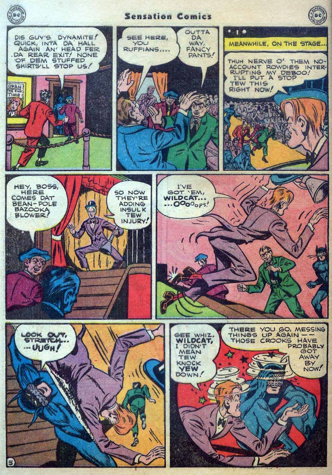 Sensation (Mystery) Comics issue 56 - Page 46
