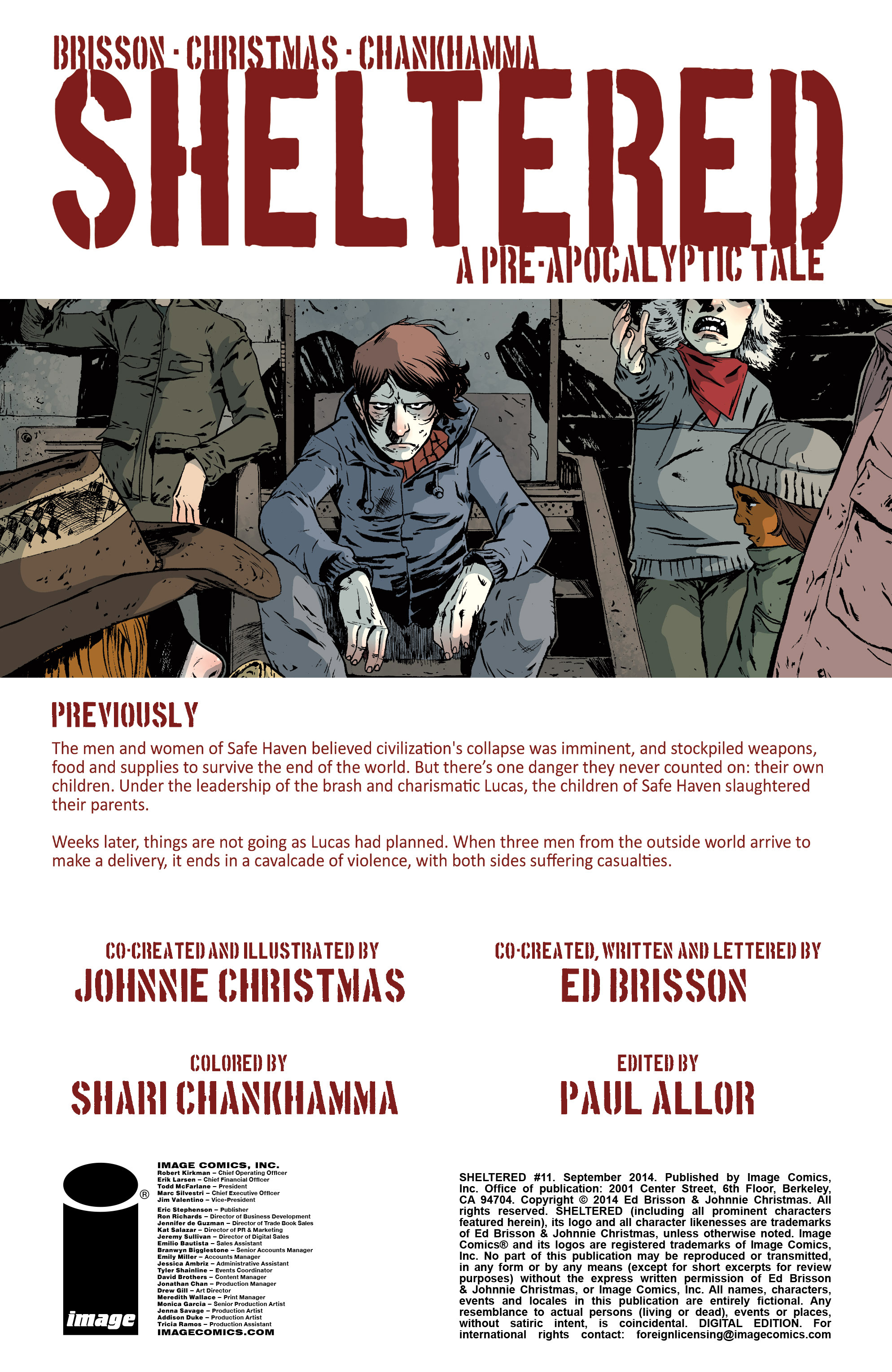 Read online Sheltered comic -  Issue #11 - 2