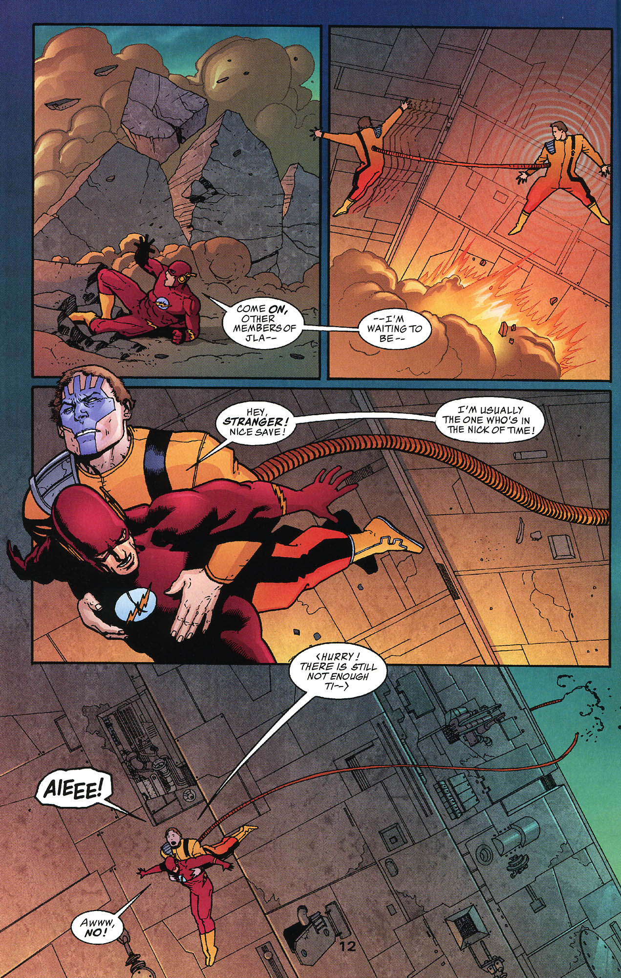 Read online JLA/Haven: Arrival comic -  Issue # Full - 12