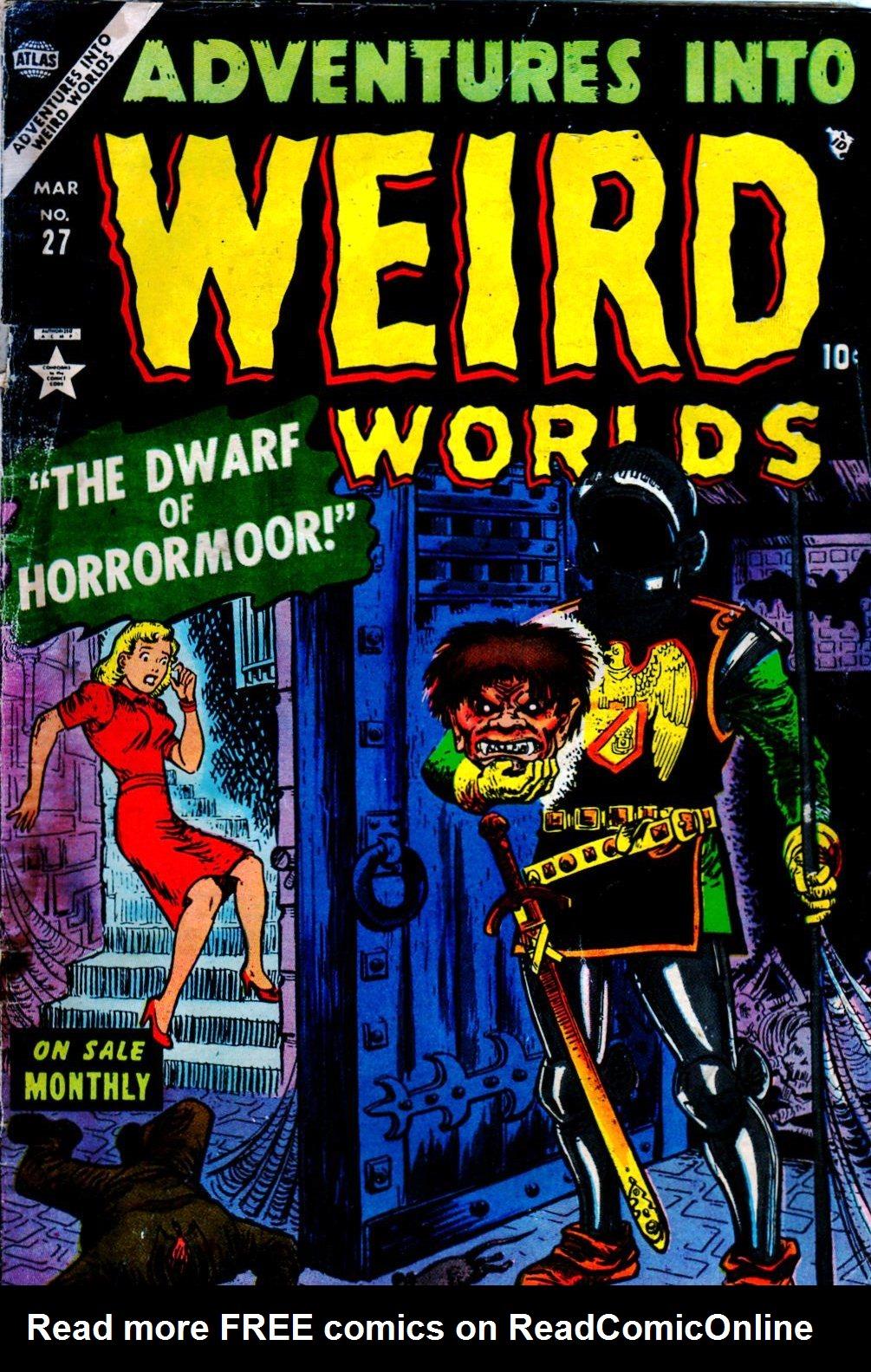 Read online Adventures into Weird Worlds comic -  Issue #27 - 2