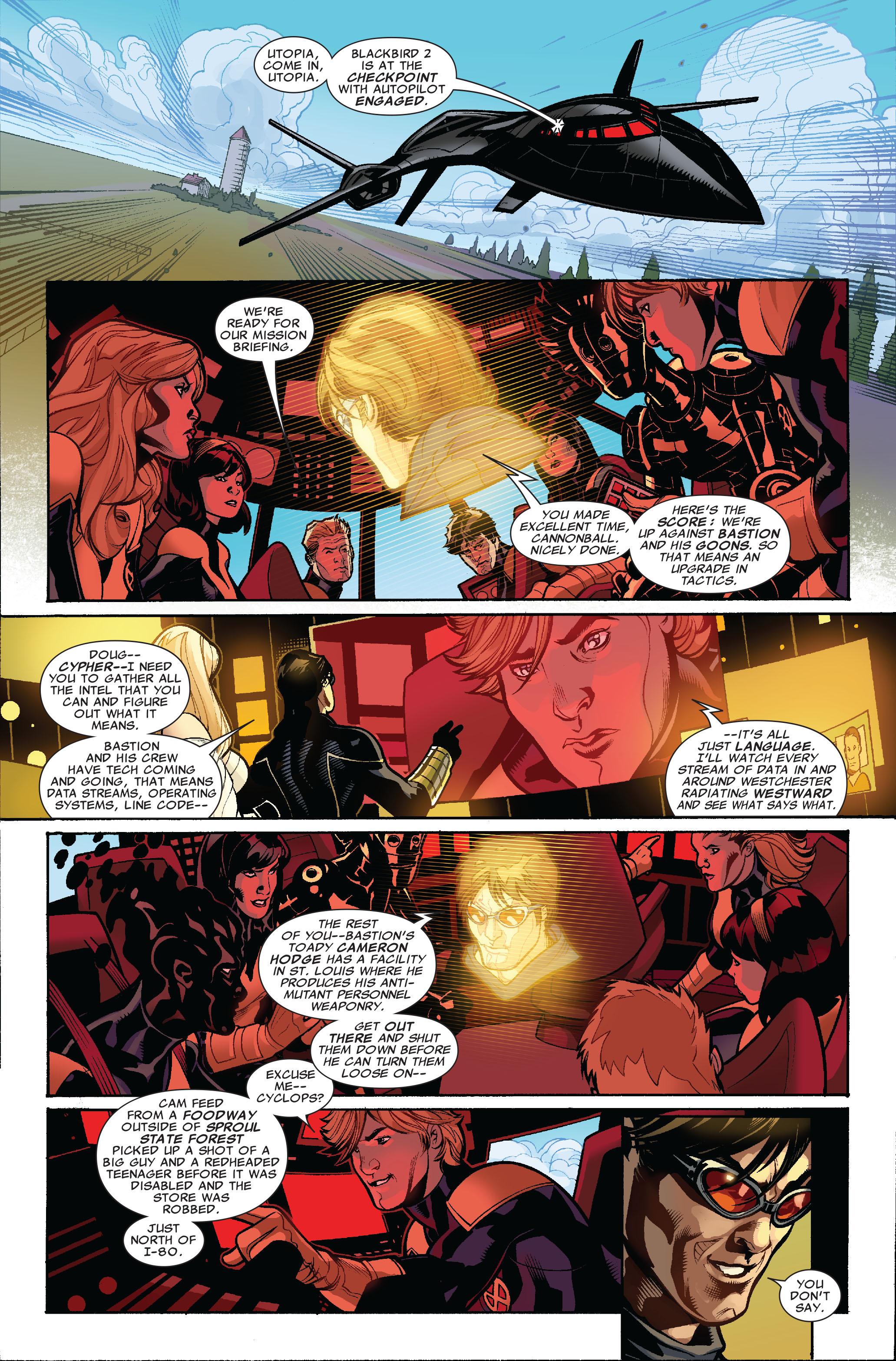 Read online Uncanny X-Men (1963) comic -  Issue #523 - 10