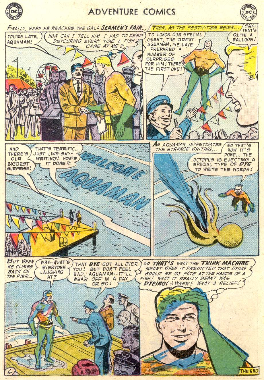 Read online Adventure Comics (1938) comic -  Issue #231 - 23