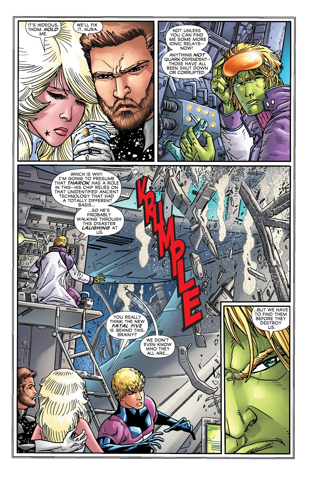 Legion of Super-Heroes (2011) Issue #18 #19 - English 12