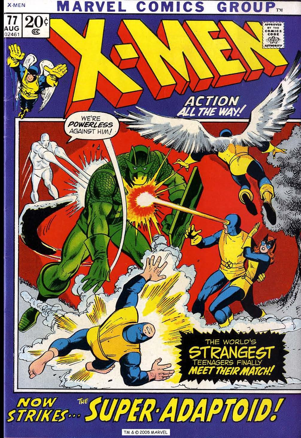 Uncanny X-Men (1963) issue 77 - Page 1
