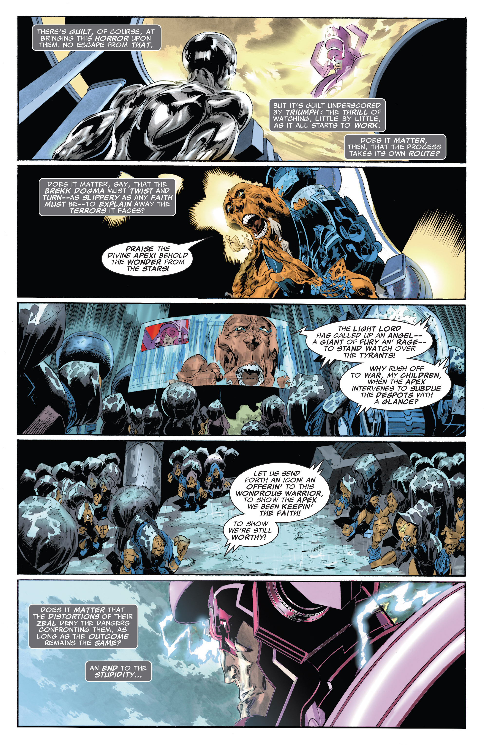 Read online Silver Surfer: In Thy Name comic -  Issue #4 - 8